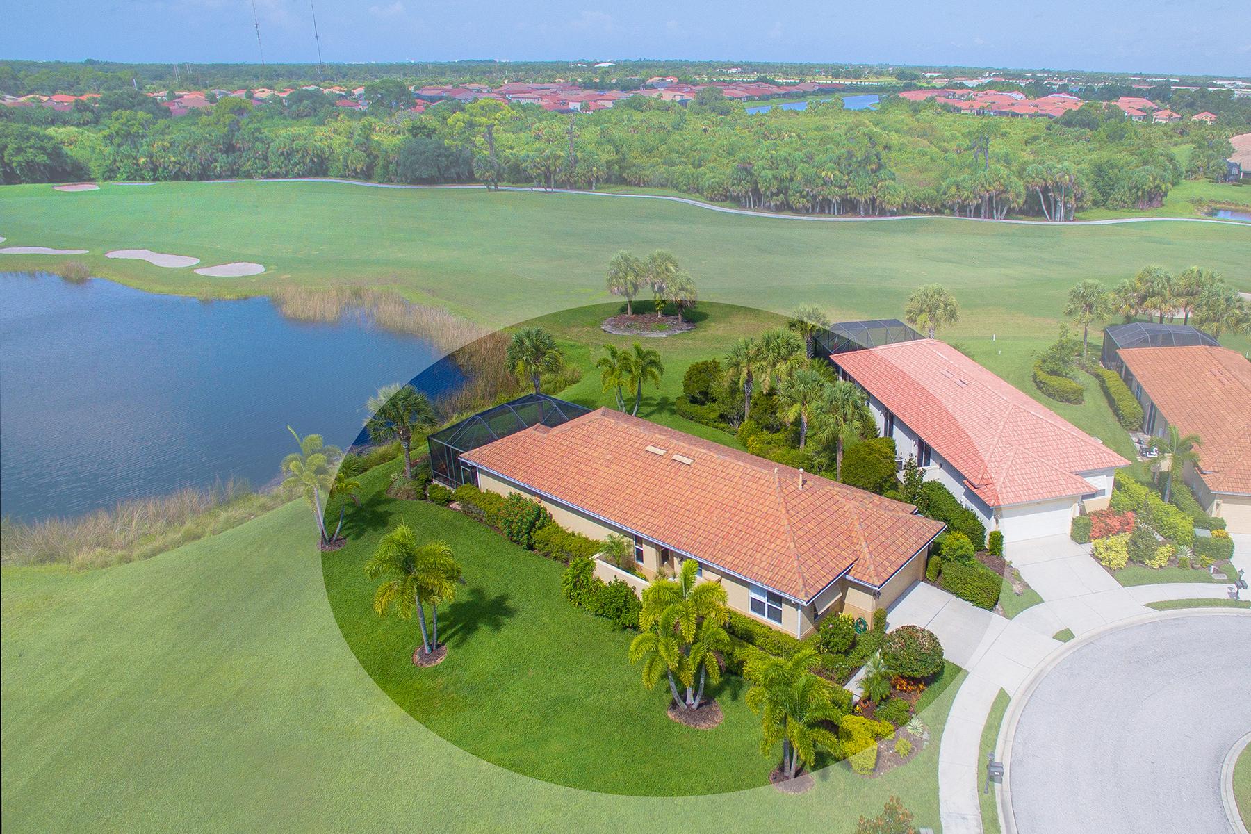 Casa Unifamiliar por un Venta en VENETIAN GOLF & RIVER CLUB 506 Montelluna Dr North Venice, Florida, 34275 Estados Unidos