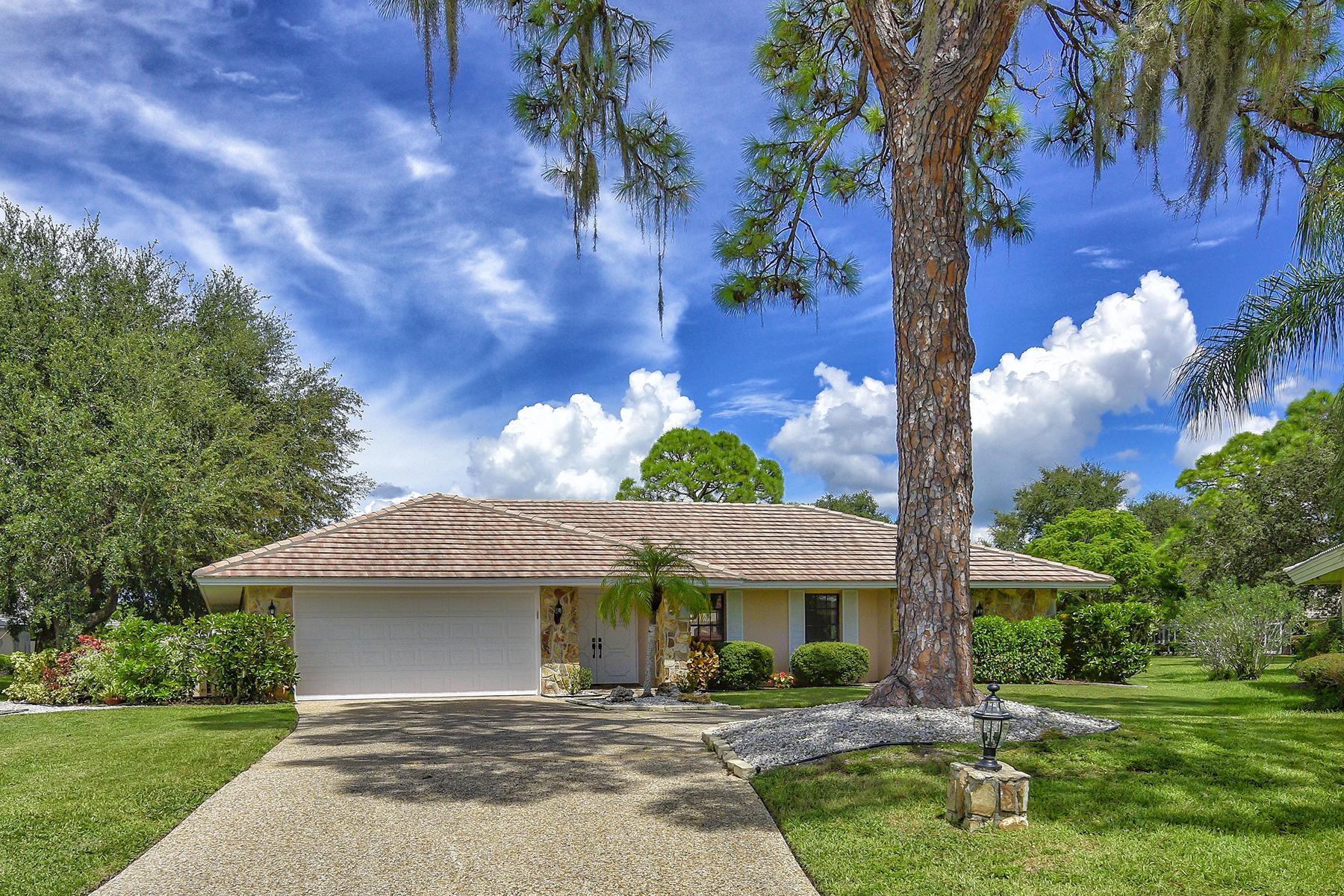 Частный односемейный дом для того Продажа на SOUTHBAY YACHT AND RACQUET CLUB 1469 Shoal Way Osprey, Флорида 34229 Соединенные Штаты
