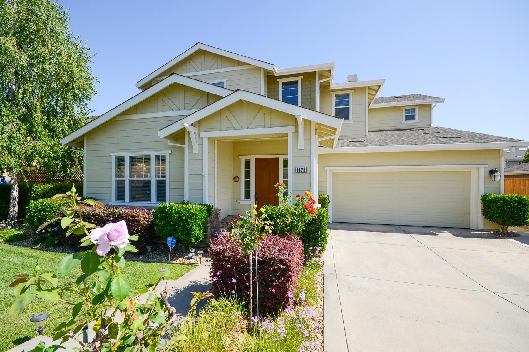 Casa Unifamiliar por un Venta en 1123 Wyatt Ave, Napa, CA 94559 1123 Wyatt Ave Napa, California, 94559 Estados Unidos