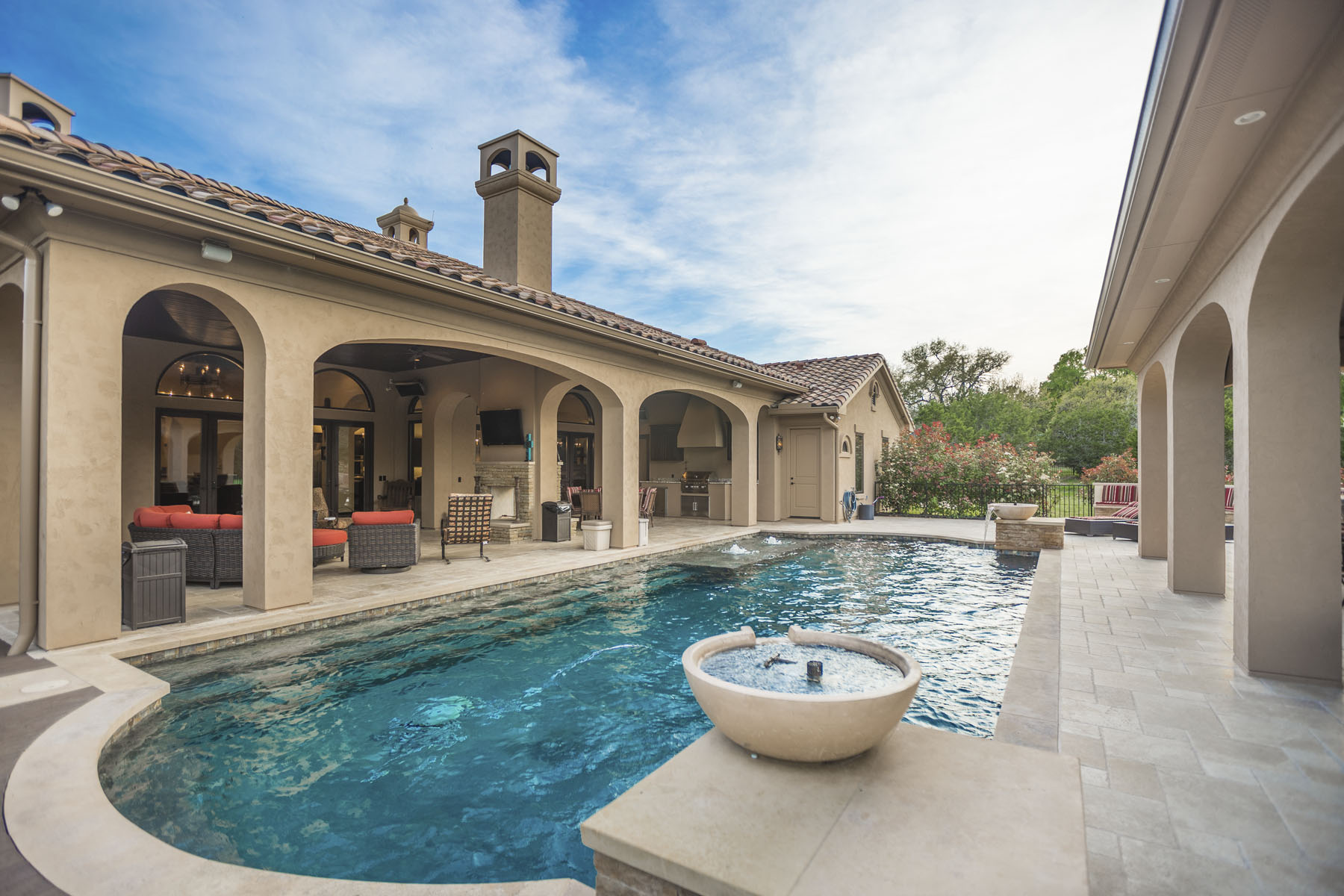 Single Family Home for Sale at Gated Lakeway Estate in Prestigious Bella Montagna 104 La Strada Cir Austin, Texas, 78734 United States