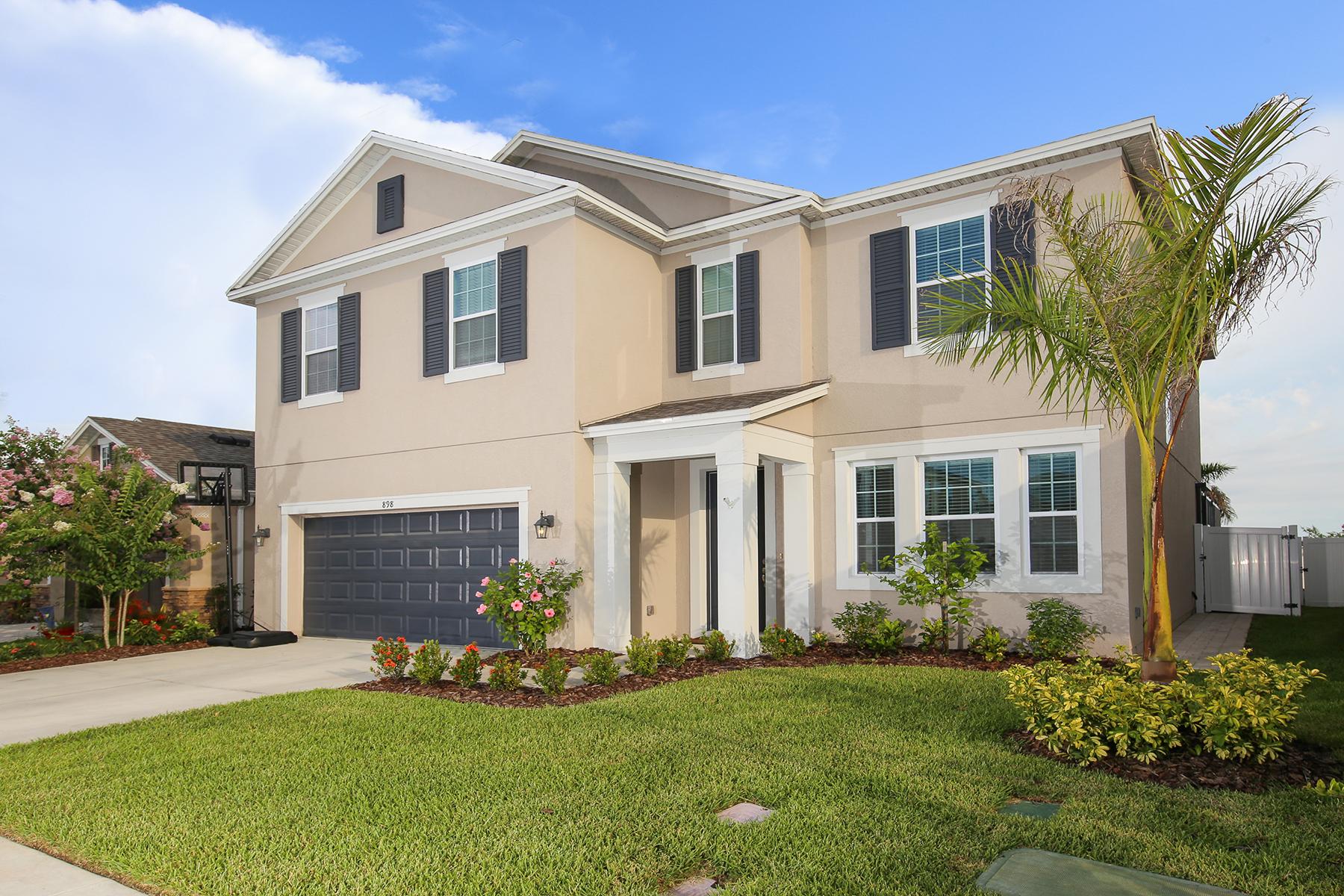 단독 가정 주택 용 매매 에 WHITAKER PARK OF SARASOTA 898 Molly Cir Sarasota, 플로리다, 34232 미국