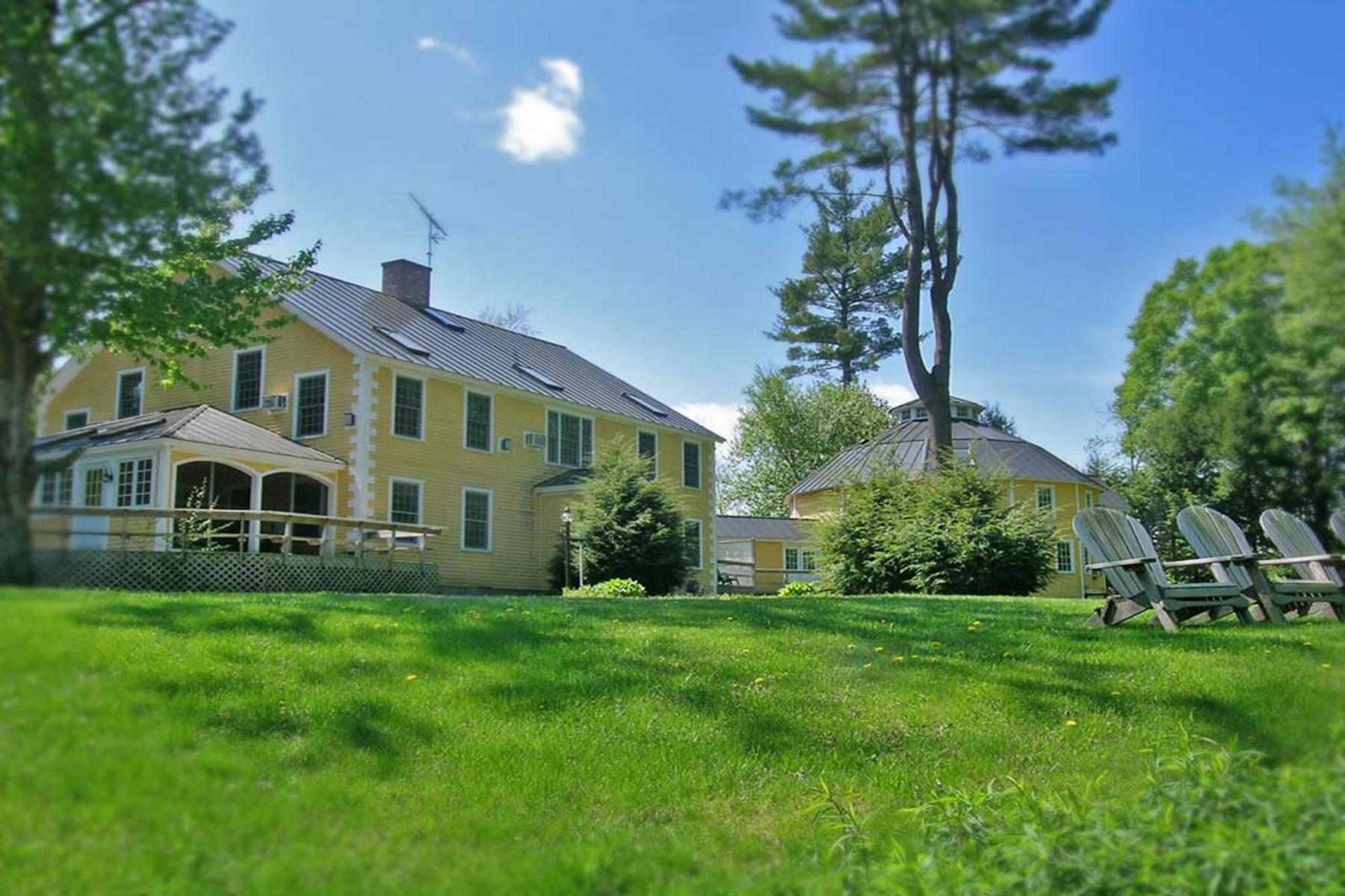 Частный односемейный дом для того Продажа на Breakfast on the Con 651 River Rd Lyme, Нью-Гэмпшир 03768 Соединенные Штаты