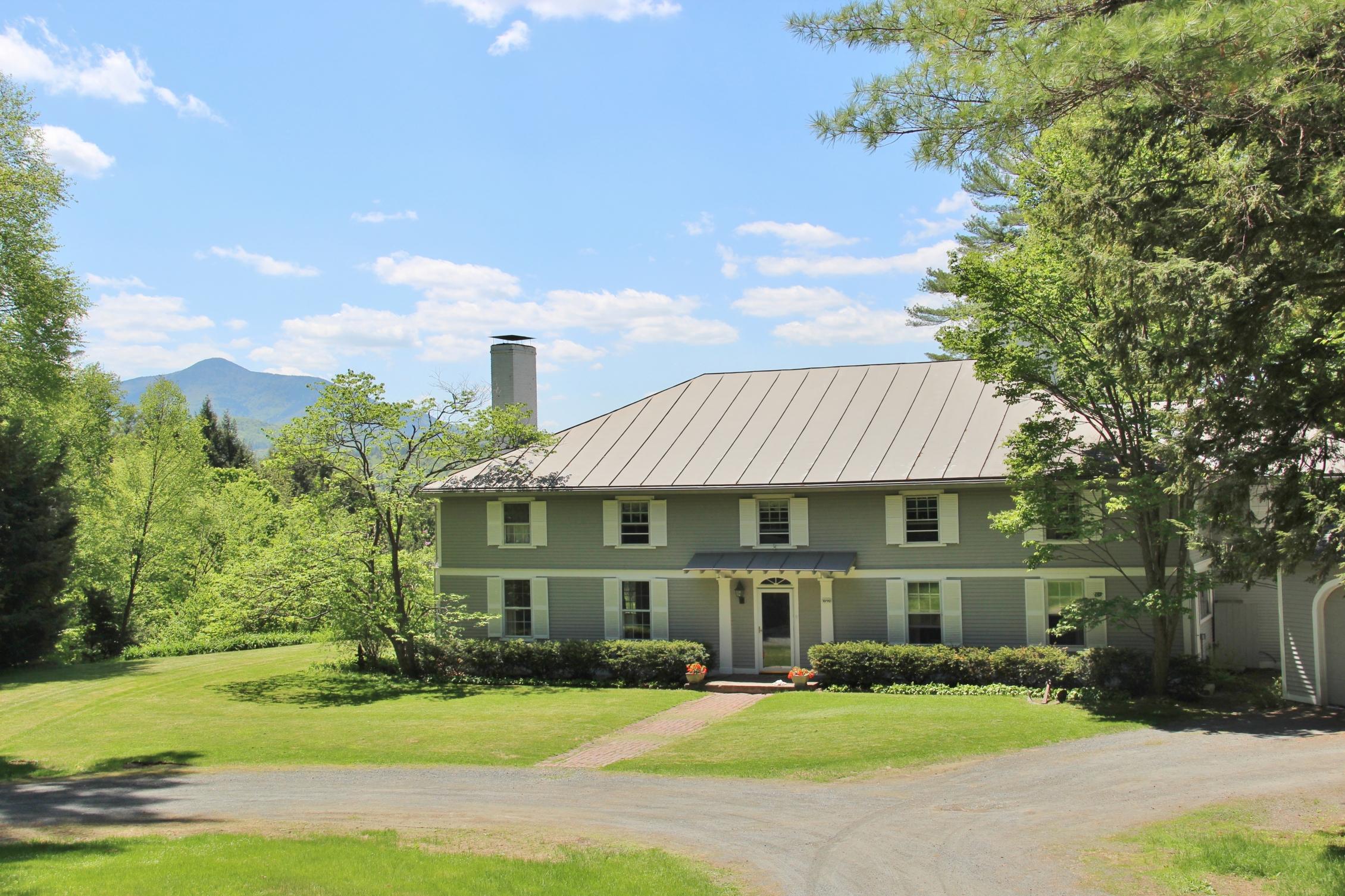 Maison unifamiliale pour l Vente à 193 Platt Road, Cornish 193 Platt Rd Cornish, New Hampshire 03745 États-Unis