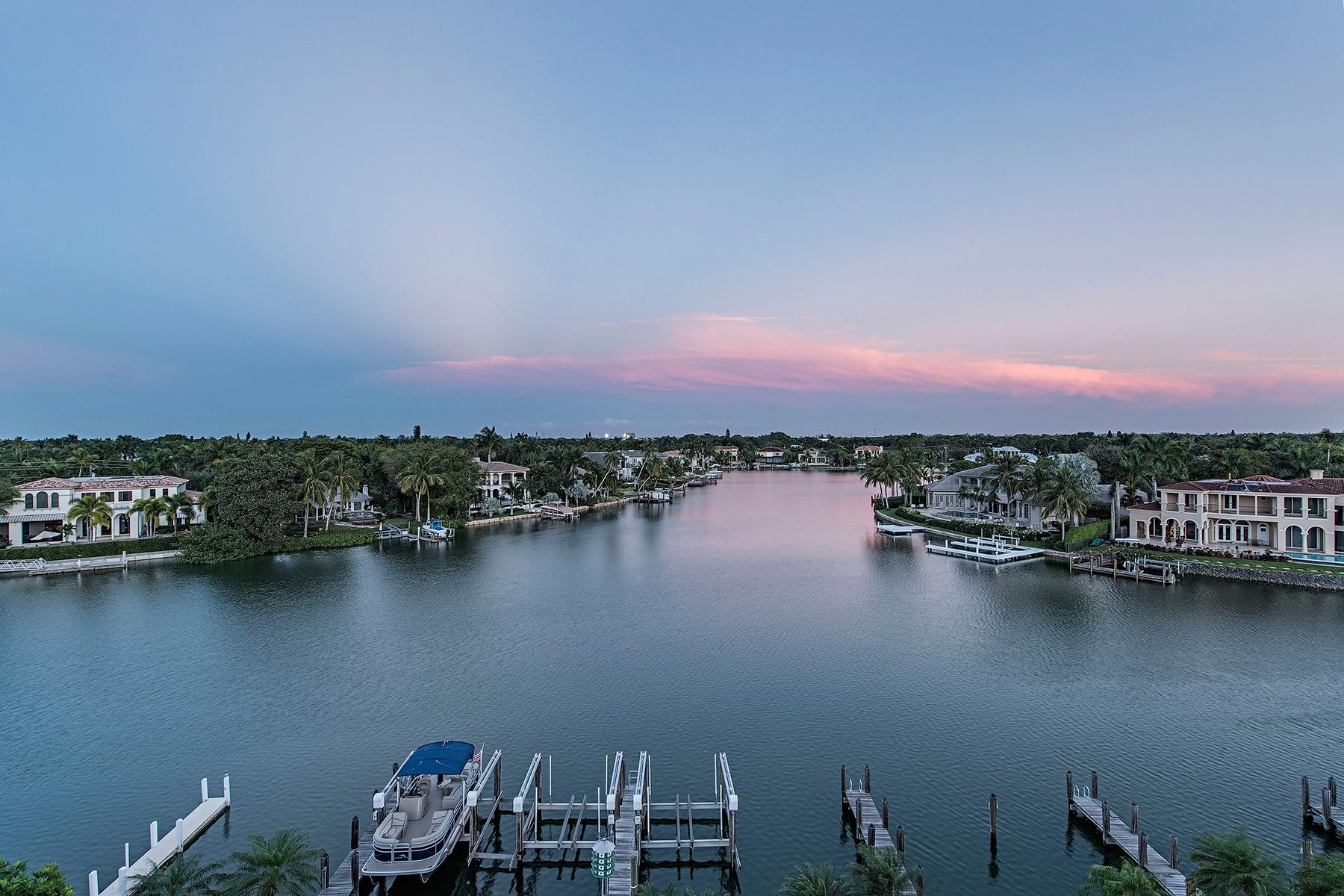 Appartement en copropriété pour l Vente à MOORINGS - BOULEVARD CLUB 1900 Gulf Shore Blvd N 506 Naples, Florida 34102 États-Unis