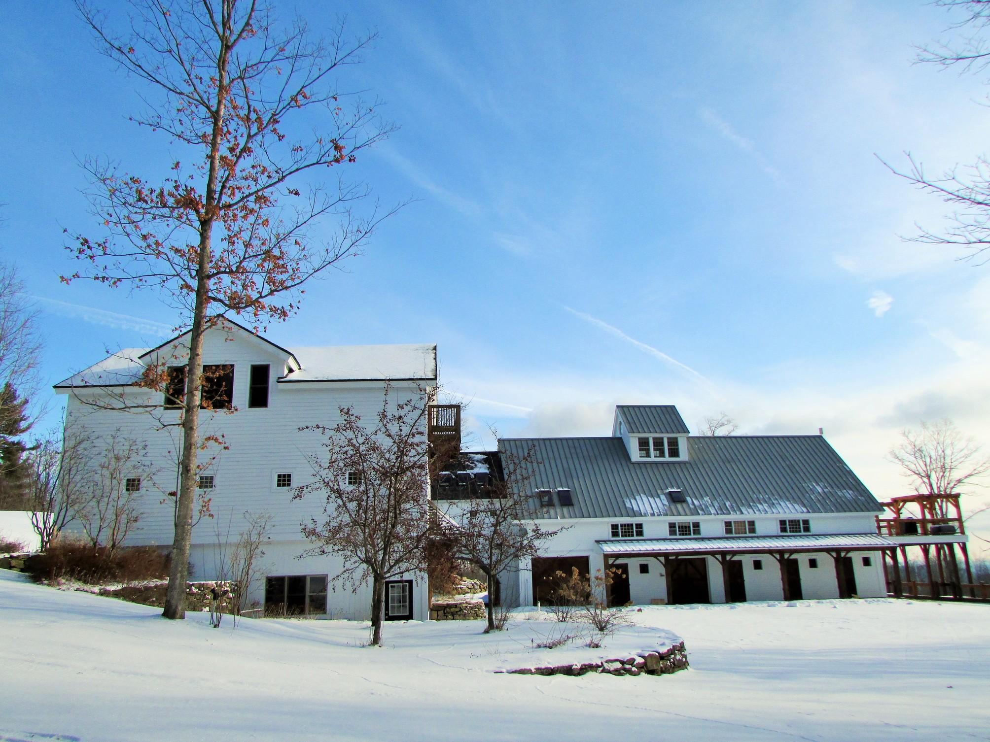 Maison unifamiliale pour l Vente à Custom Timber Frame with Panoramic Views 235 Dover Hill Dover, Vermont, 05356 États-Unis