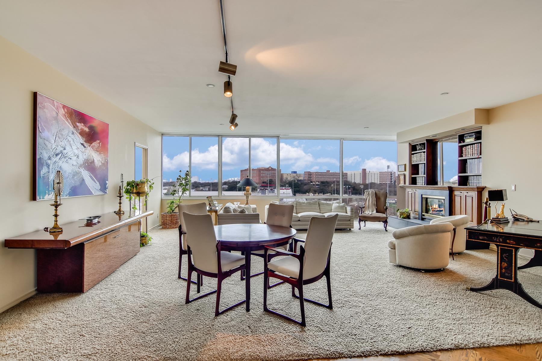 Appartement en copropriété pour l Vente à Spectacular Condo in Alamo Heights 200 Patterson Ave 510 San Antonio, Texas, 78209 États-Unis