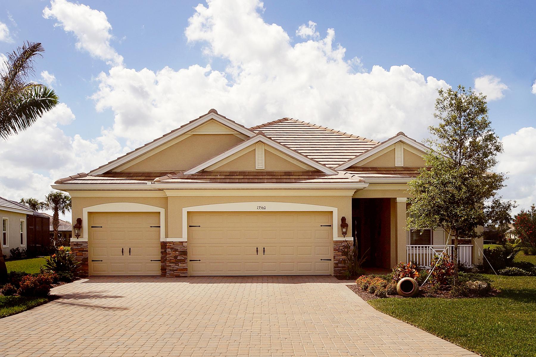 Maison unifamiliale pour l Vente à PALMETTO GROVE - VERANDAH 13560 Palmetto Grove Dr Fort Myers, Florida 33905 États-Unis