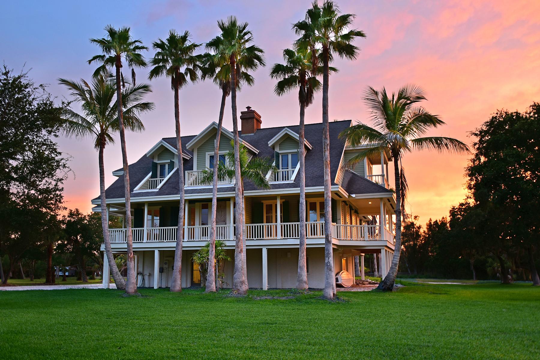 Casa Unifamiliar por un Venta en TERRA CEIA 1231 Bayshore Dr Terra Ceia, Florida 34250 Estados Unidos