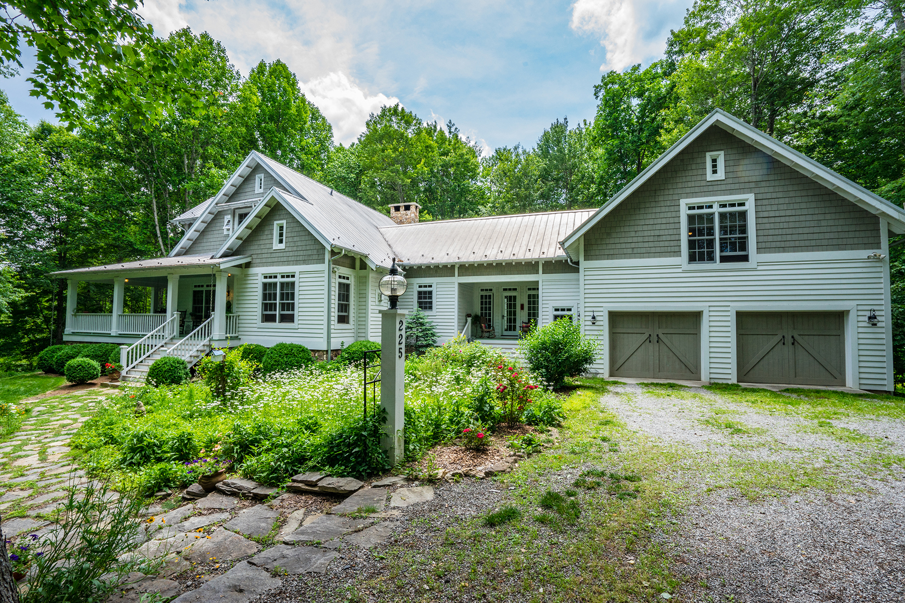 Single Family Home for Sale at CRUMPLER - THE RIDGE AT CHESTNUT HILL 225 Deer Thicket Lane Crumpler, North Carolina, 28617 United States