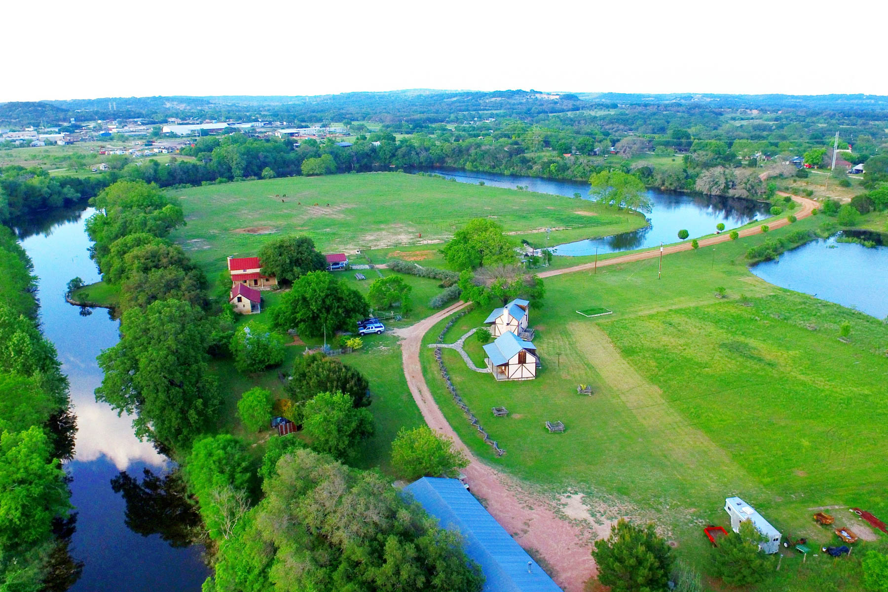 Single Family Home for Sale at Amazing Fredericksburg Property on 36-/+ Acres 457 Bob Moritz Fredericksburg, Texas 78624 United States