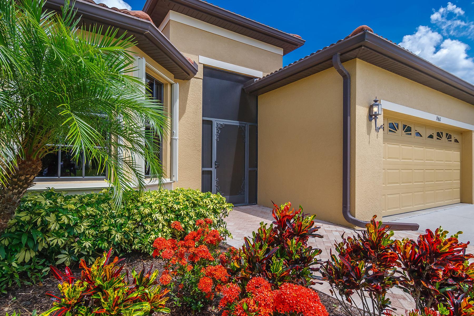 Частный односемейный дом для того Продажа на VENETIAN FALLS 1960 Batello Dr Venice, Флорида, 34292 Соединенные Штаты