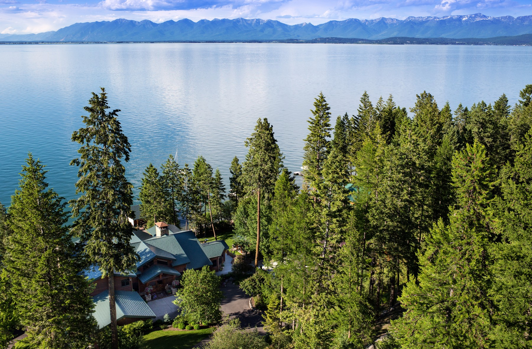 Single Family Home for Sale at 527 Conrad Point 527 Conrad Point Drive Lakeside, Montana 59922 United States