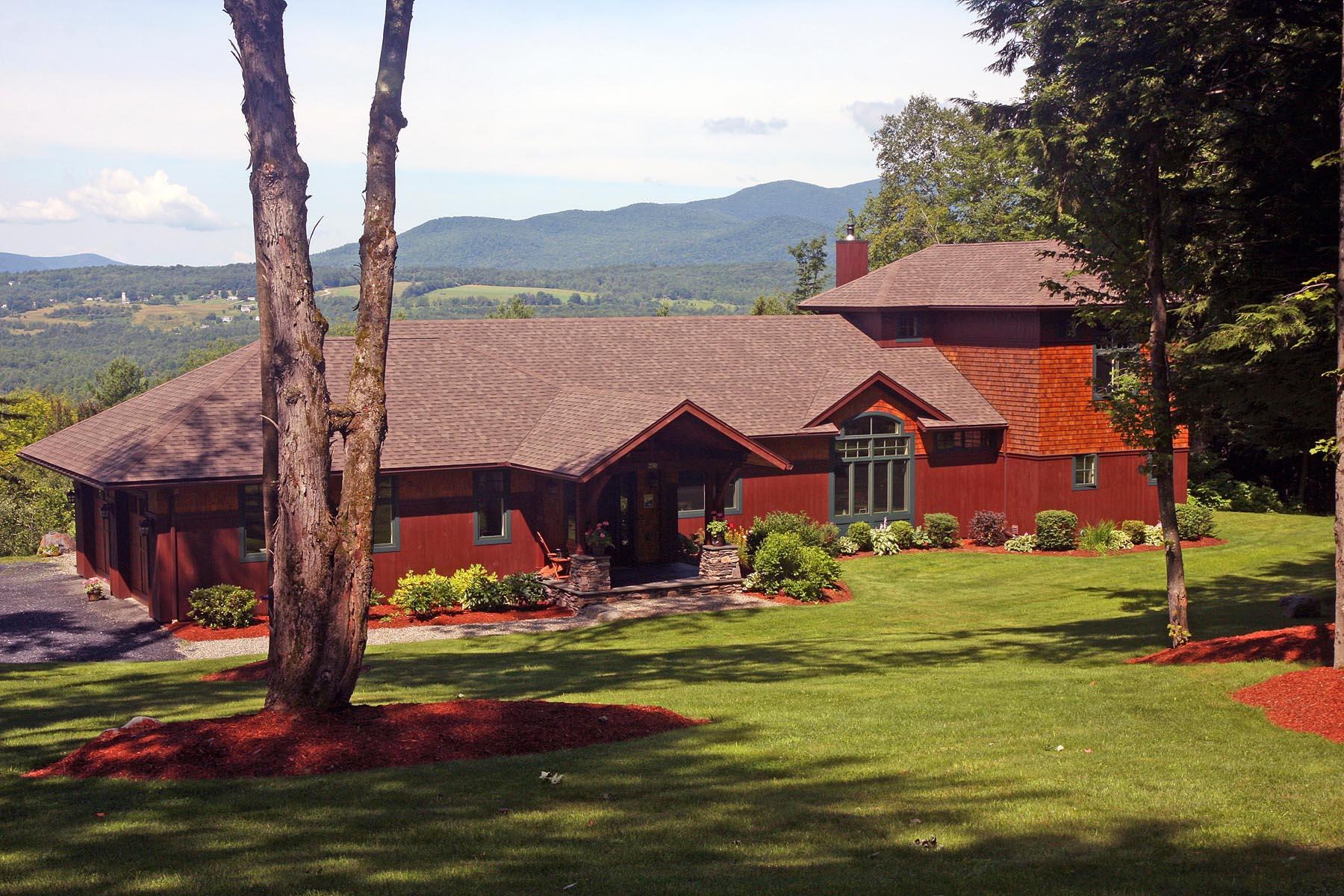 Maison unifamiliale pour l Vente à 230 Evergreen Woods, Waterbury Waterbury, Vermont 05677 États-Unis