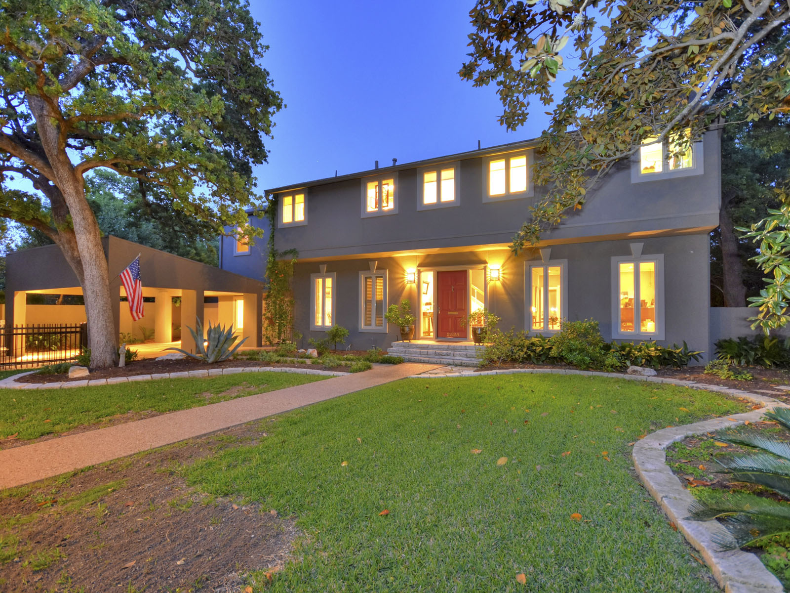 Single Family Home for Sale at A Tarrytown Classic 2525 Spring Ln Austin, Texas, 78703 United States