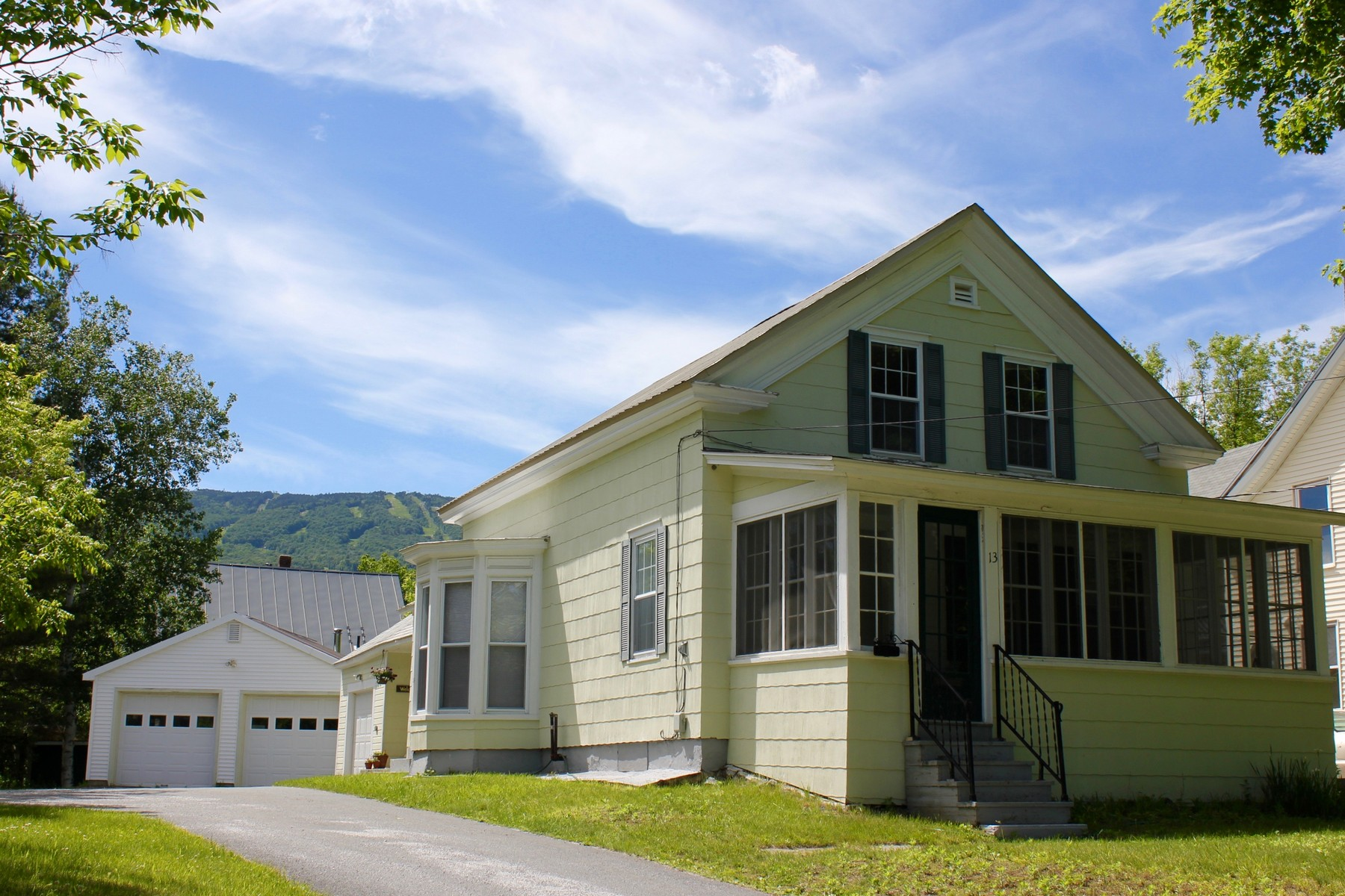 Single Family Home for Sale at Ludlow Village on Shuttle Route 13 Depot St Ludlow, Vermont, 05149 United States