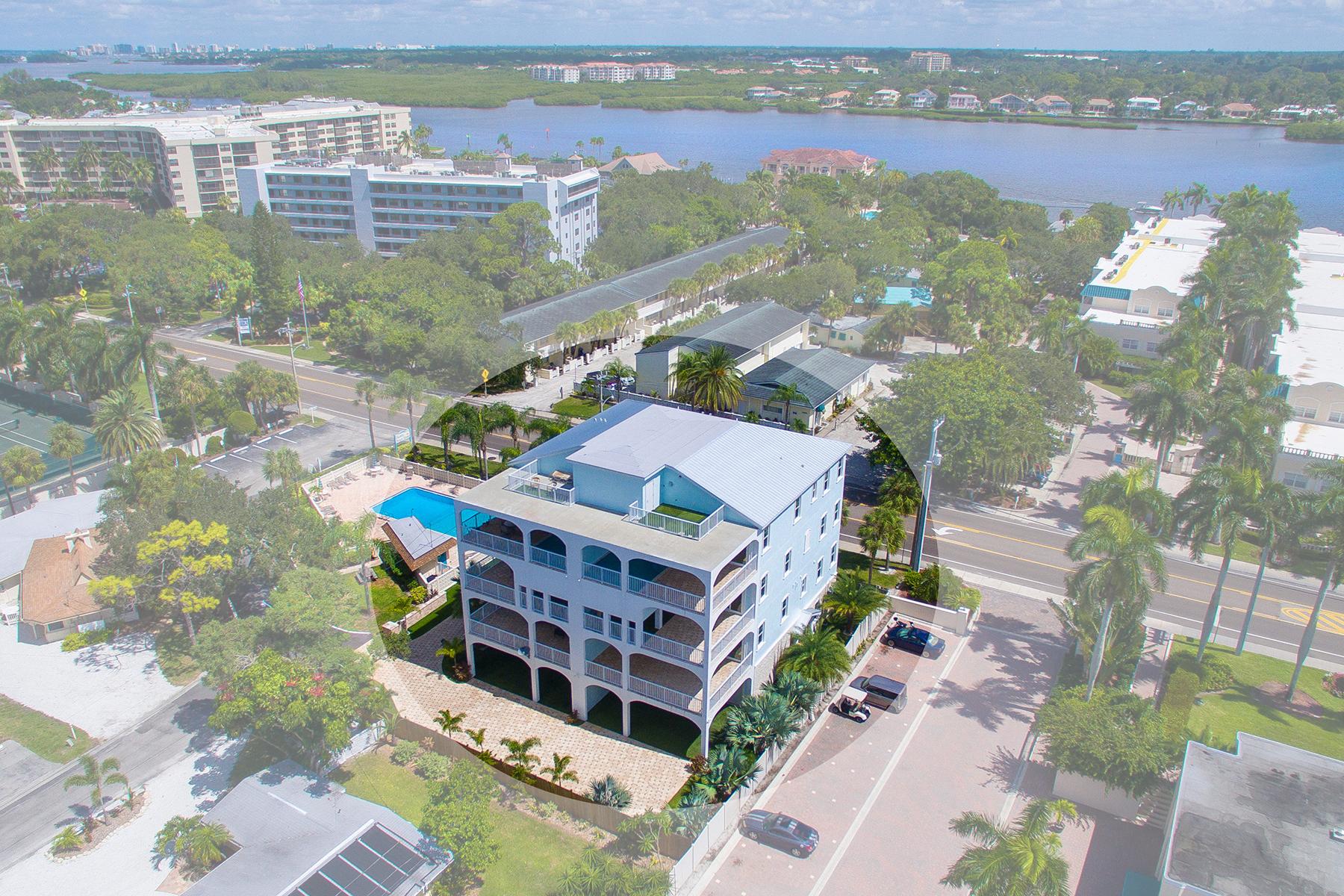타운하우스 용 매매 에 SIESTA KEY 1136 Windsong Ln Sarasota, 플로리다, 34242 미국