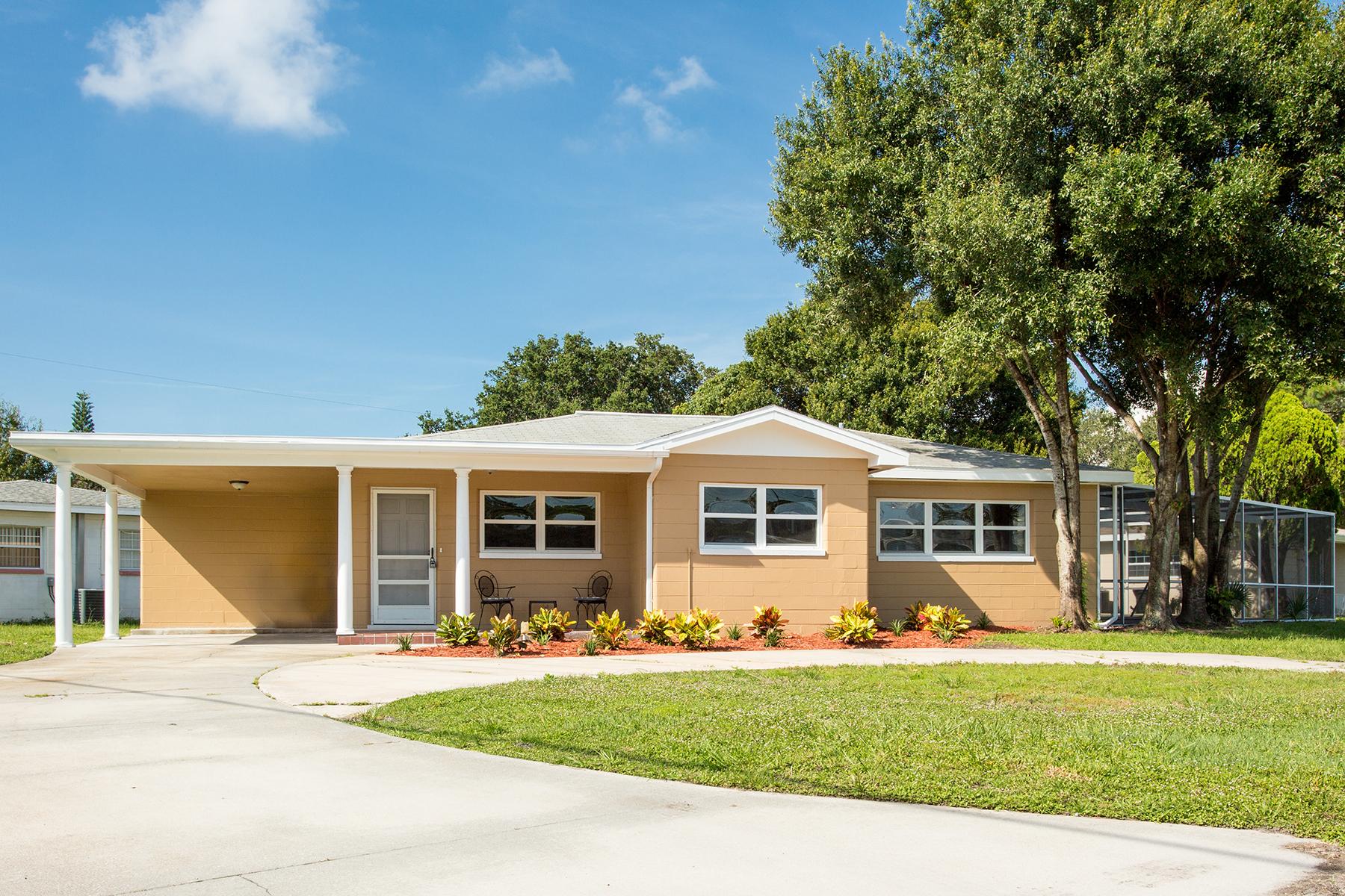단독 가정 주택 용 매매 에 GULFPORT 1801 58th St S Gulfport, 플로리다 33707 미국