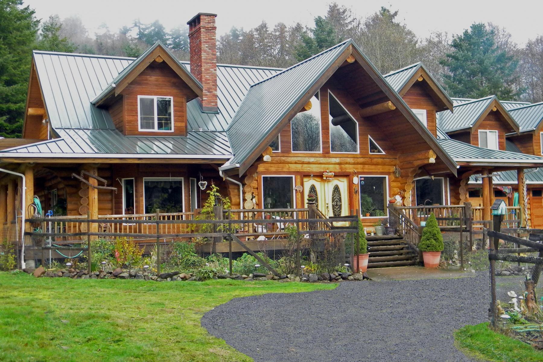 Single Family Home for Sale at 34595 Upper Nestucca River 34595 Upper Nestucca River Rd Tillamook, Oregon 97108 United States
