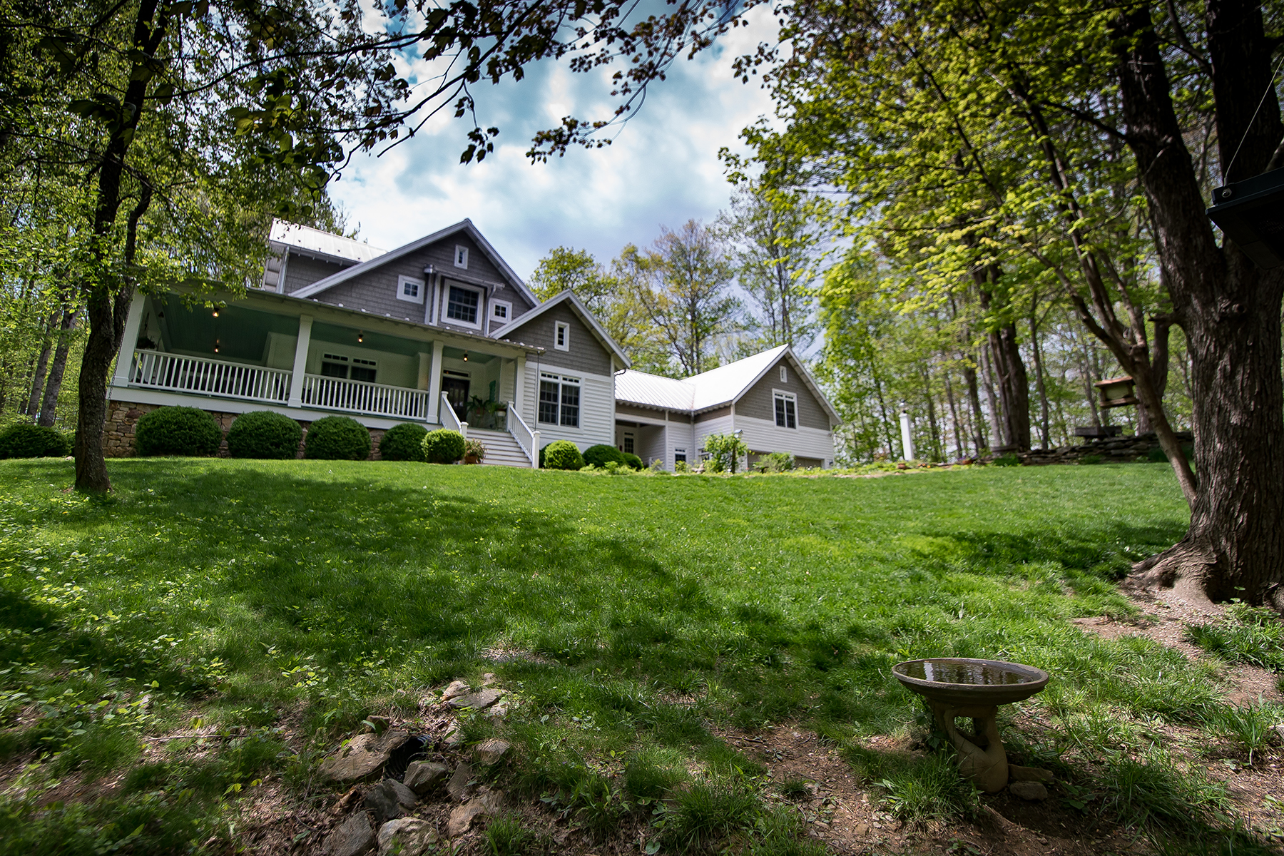 獨棟家庭住宅 為 出售 在 CRUMPLER - THE RIDGE AT CHESTNUT HILL 225 Deer Thicket Lane Crumpler, 北卡羅來納州, 28617 美國