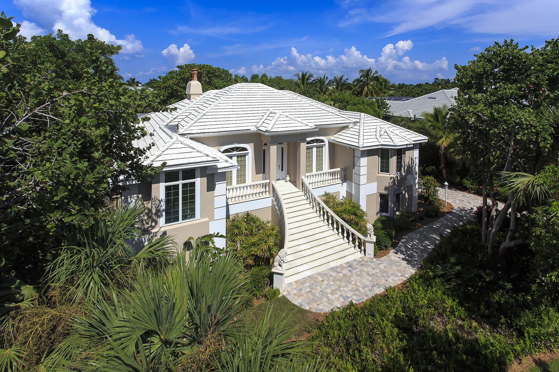 独户住宅 为 销售 在 SANIBEL 626 Kinzie Island Ct 撒你贝尔, 佛罗里达州, 33957 美国