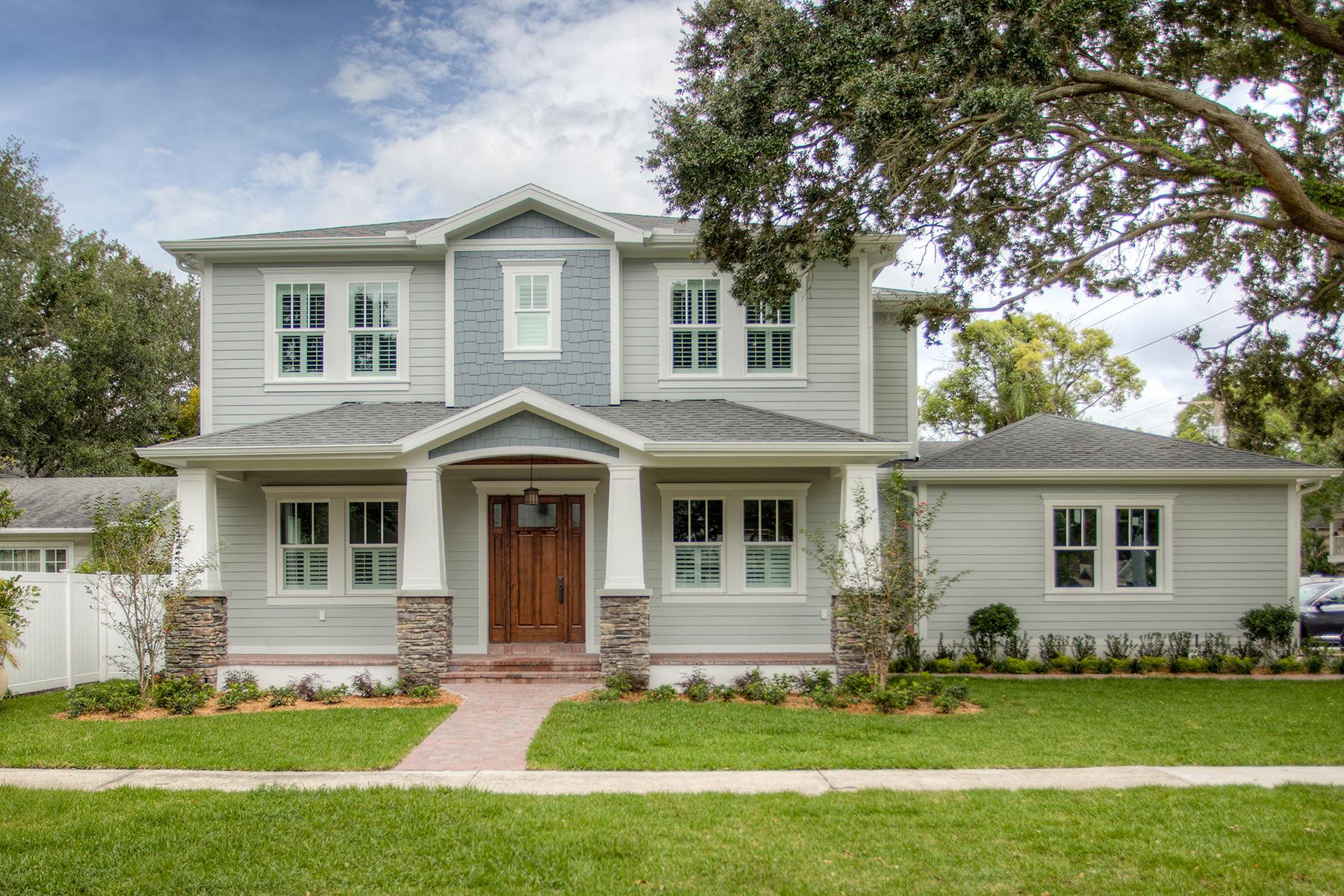 Частный односемейный дом для того Продажа на ST. PETERSBURG 398 Belleair Dr NE St. Petersburg, Флорида 33704 Соединенные Штаты