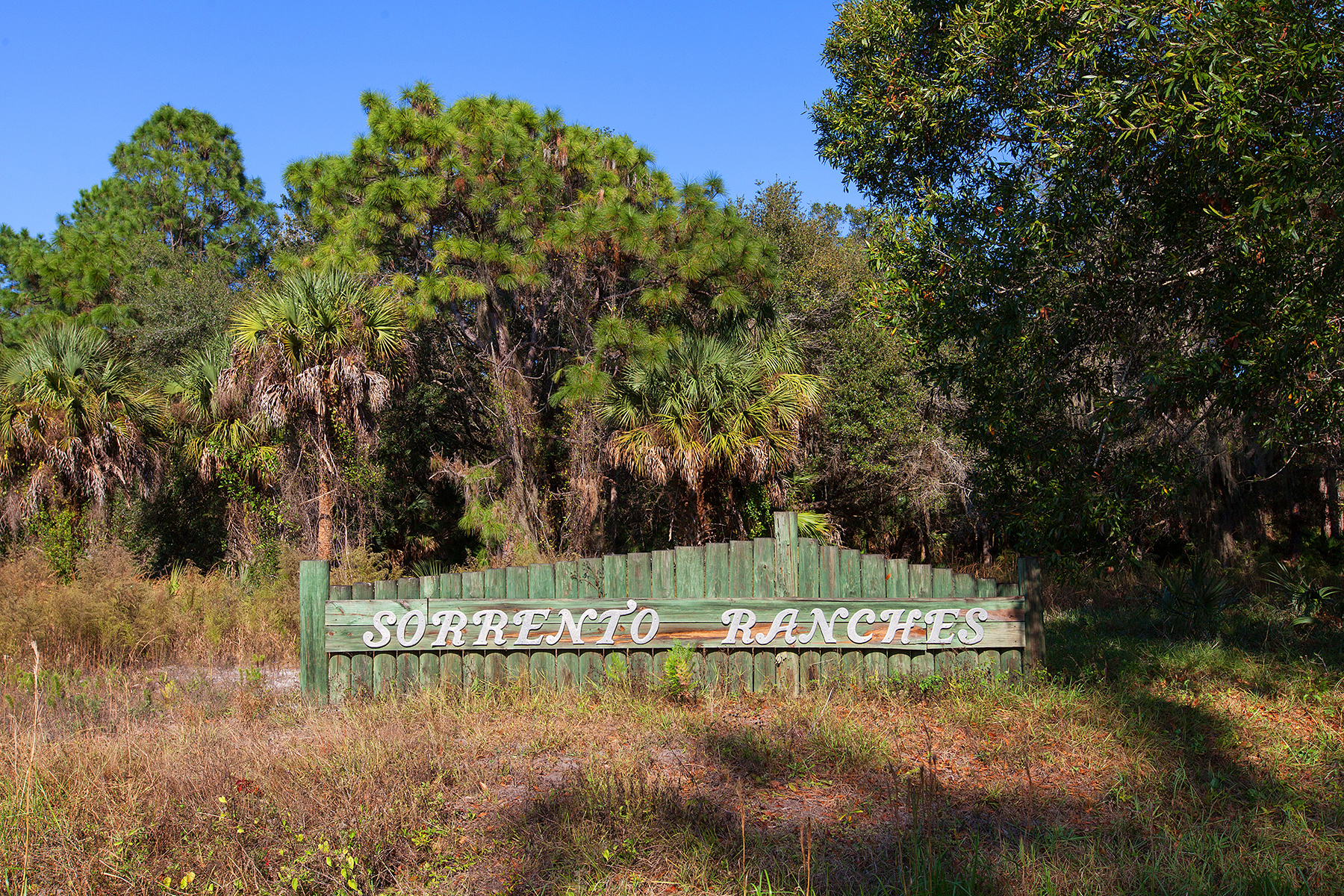 Land for Sale at SORRENTO RANCHES Sorrento Ranch Dr 6 Nokomis, Florida, 34275 United States
