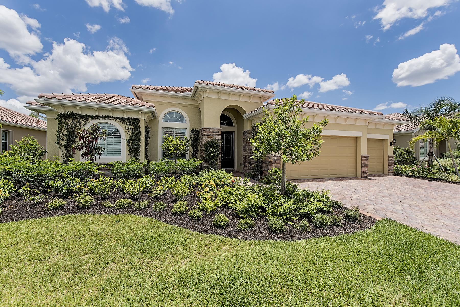 단독 가정 주택 용 매매 에 THE PLANTATION - SOMERSET 12819 Guildford Terr Fort Myers, 플로리다 33913 미국