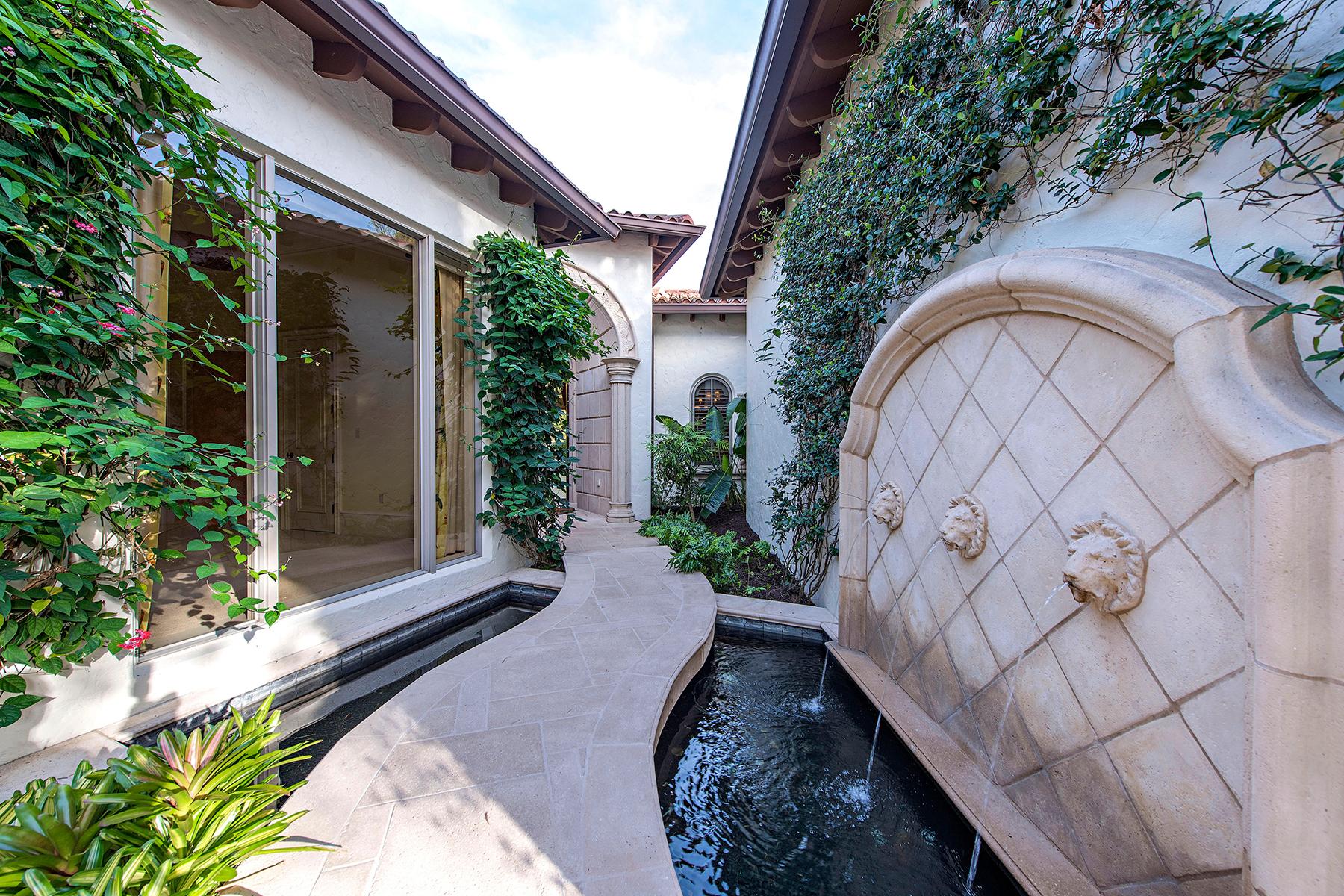 단독 가정 주택 용 매매 에 ESTUARY AT GREY OAKS 1302 Noble Heron Way Naples, 플로리다, 34105 미국
