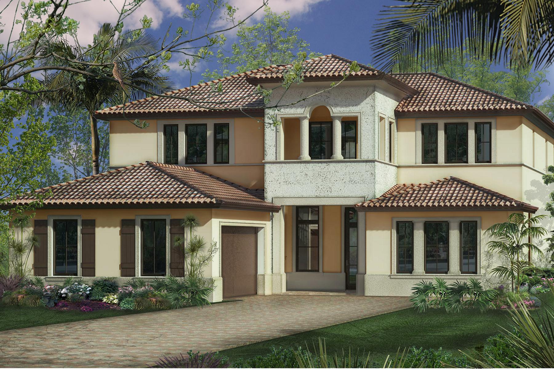 獨棟家庭住宅 為 出售 在 Naples 2101 Modena Ct Naples, 佛羅里達州, 34105 美國