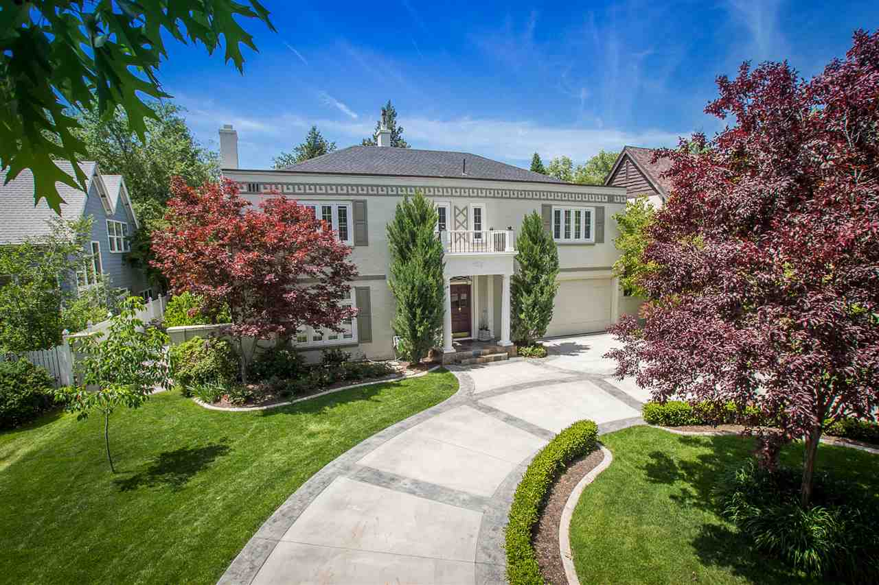 Single Family Home for Sale at Classic Greek Revival:Historic Character, Modern Amenities 1107 N Harrison North End, Boise, Idaho, 83702 United States