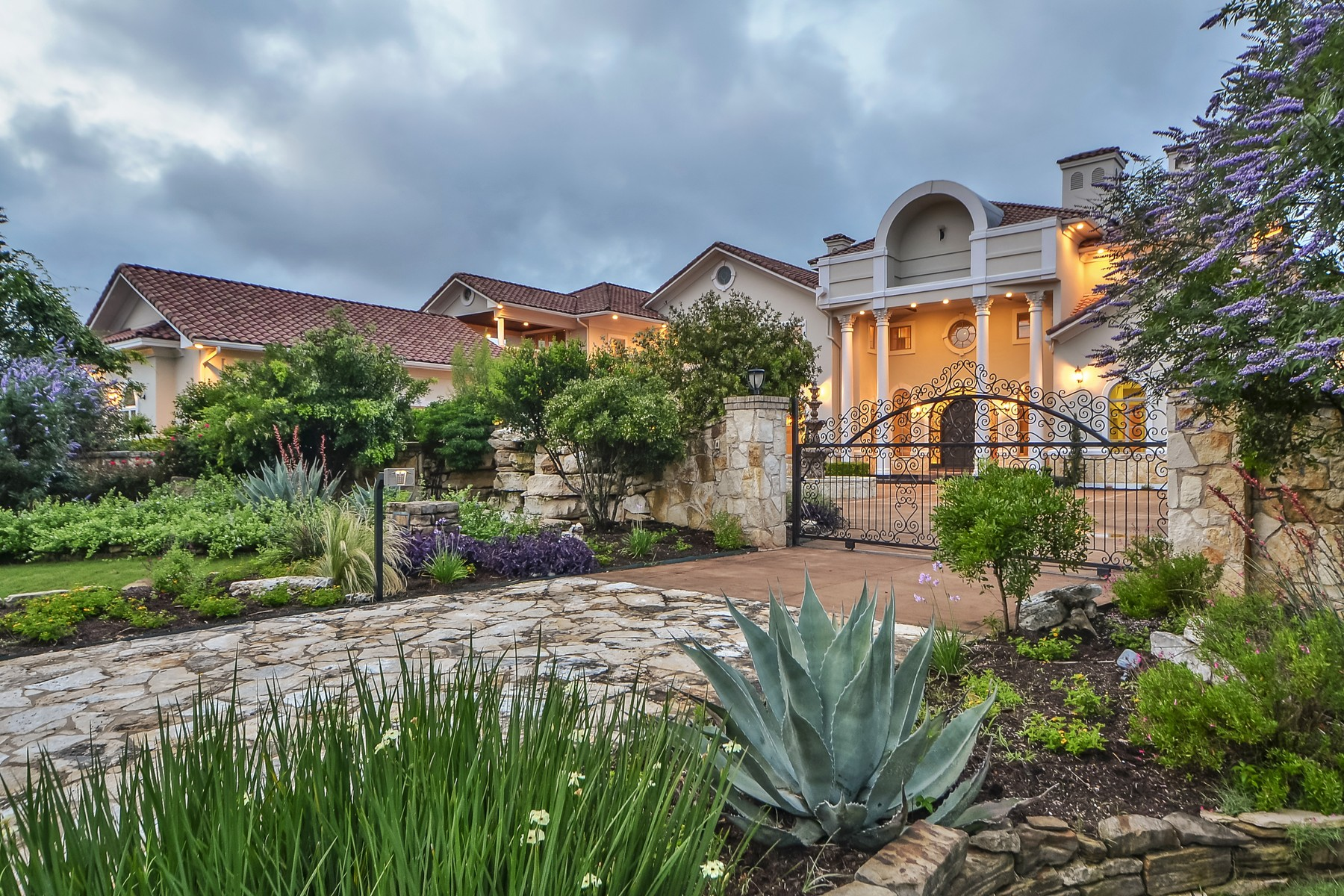 Single Family Home for Sale at Grand Sprawling Estate in Gated Golf Community 7500 Escala Dr Austin, Texas 78735 United States