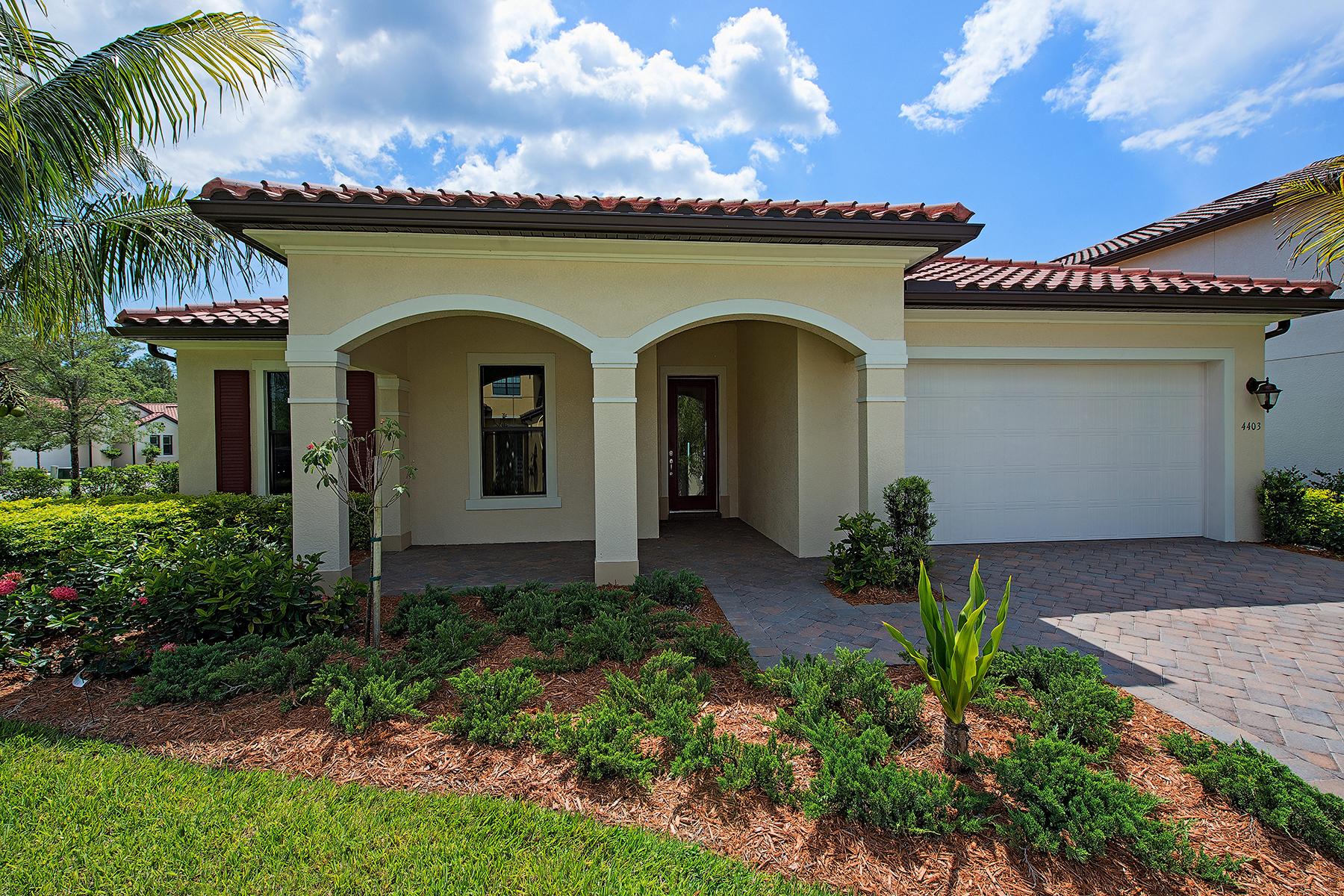 Tek Ailelik Ev için Satış at RAFFIA PRESERVE 4403 Tamarind Way Naples, Florida, 34119 Amerika Birleşik Devletleri