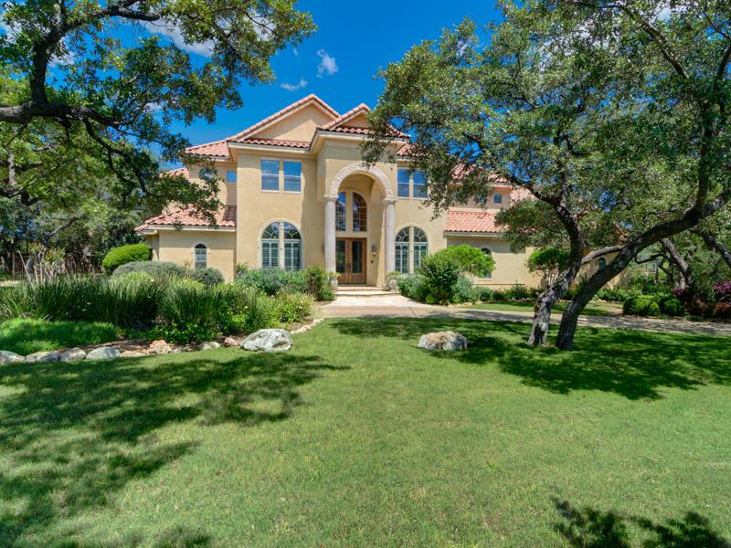 Maison unifamiliale pour l Vente à Masterpiece in Shavano Park 715 Cheos Oak San Antonio, Texas 78230 États-Unis