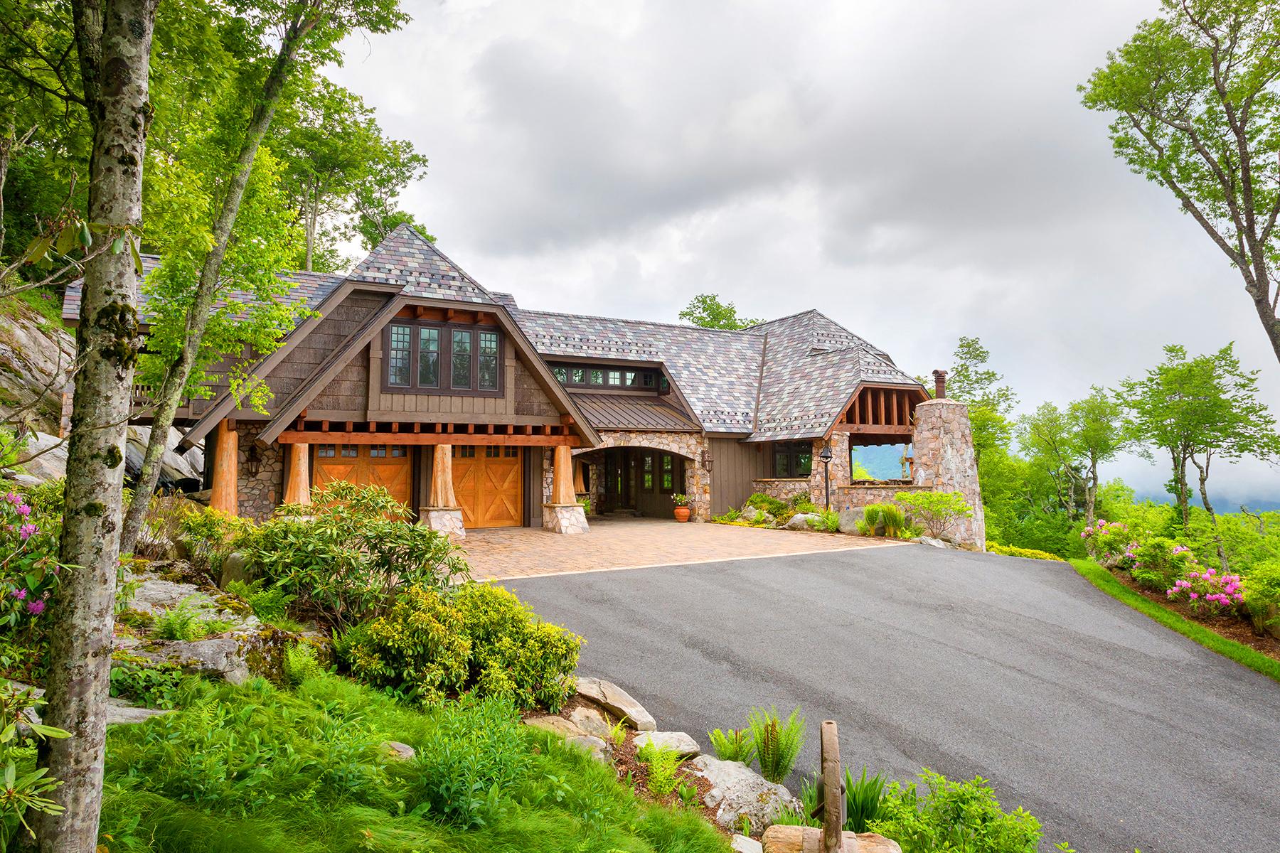 Casa Unifamiliar por un Venta en LINVILLE - LINVILLE RIDGE 1801 Branlaire Drive 18 Linville, Carolina Del Norte, 28646 Estados Unidos