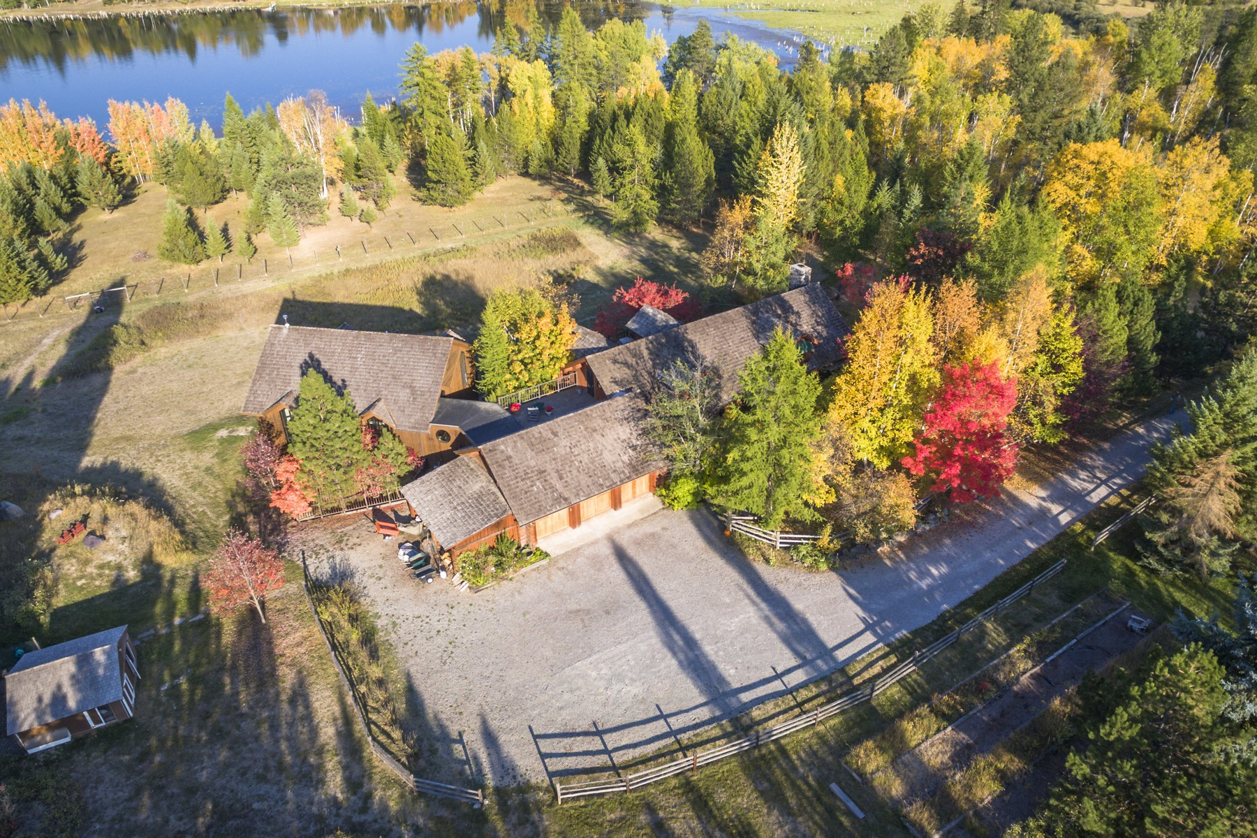 sales property at Blanchard Lake Sanctuary