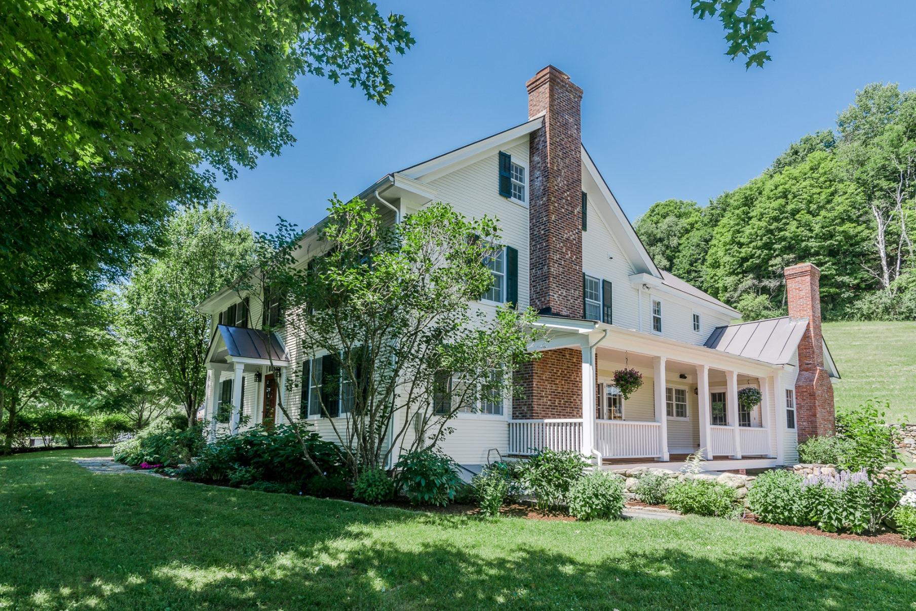 Maison unifamiliale pour l Vente à 1285 Union Village Rd, Norwich Norwich, Vermont, 05055 États-Unis