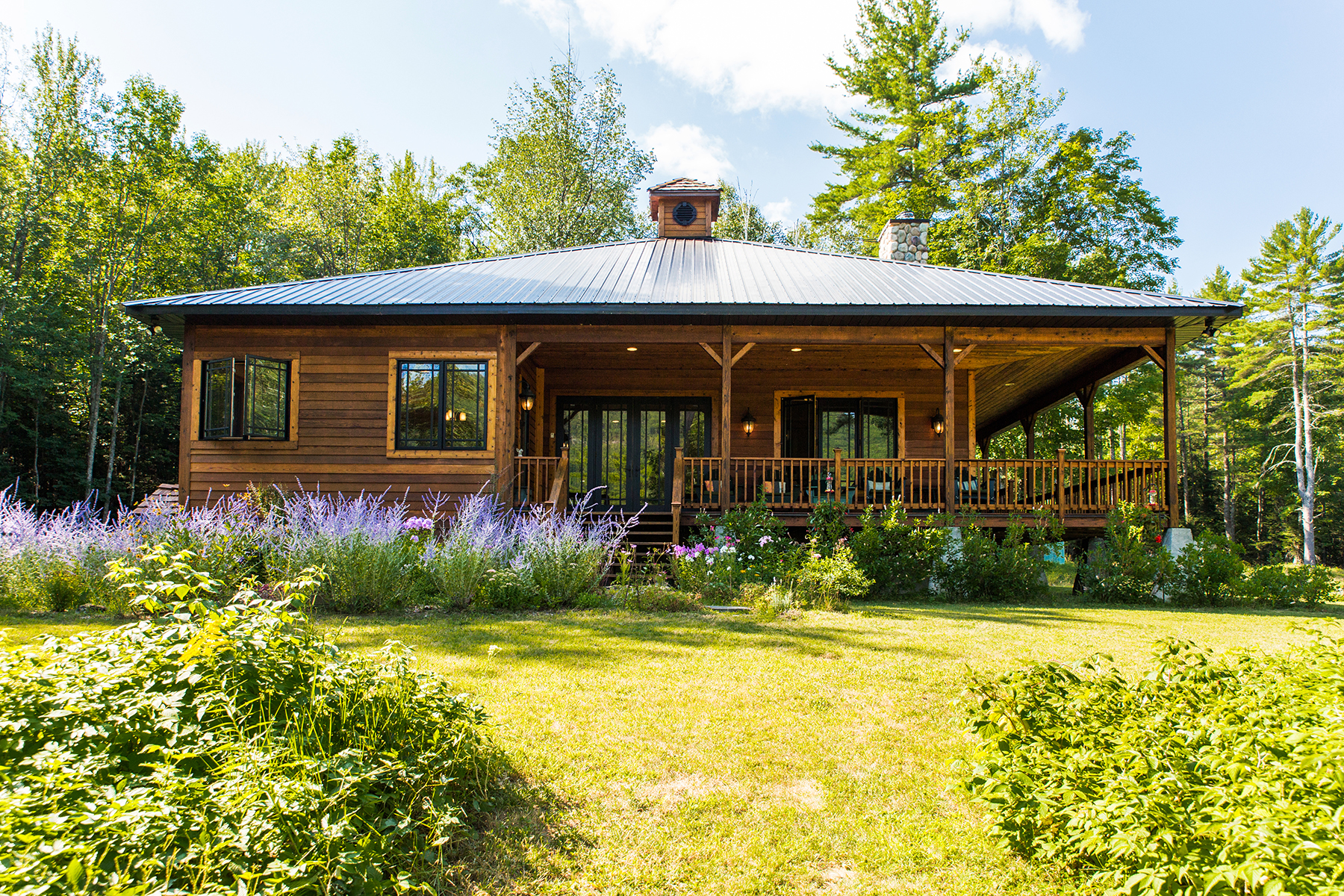 sales property at Exquisite Adirondack Waterfront Home