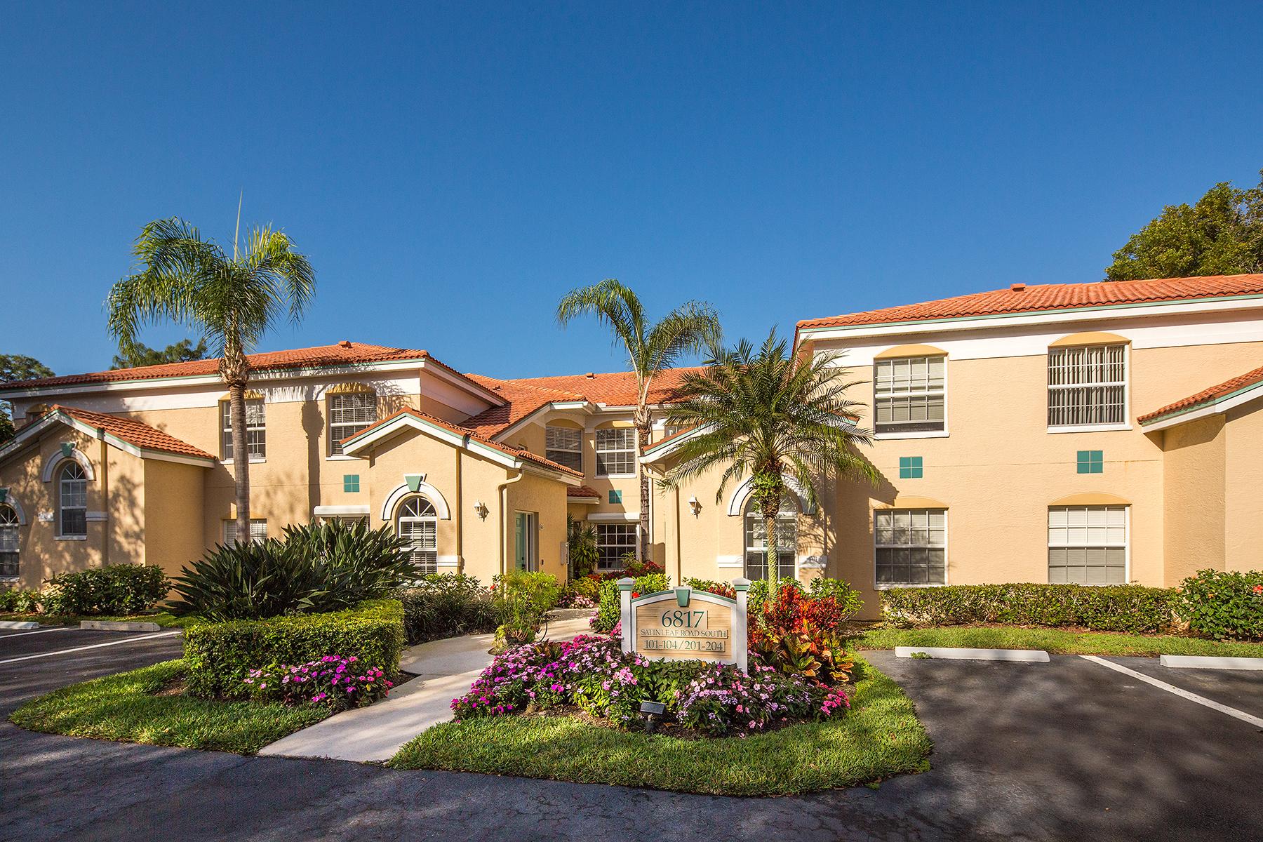 コンドミニアム のために 売買 アット Calusa Bay South 6817 Satinleaf Rd S 202 Naples, フロリダ, 34109 アメリカ合衆国