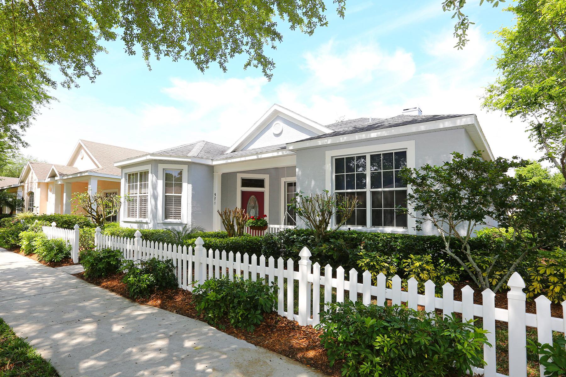 Maison unifamiliale pour l Vente à RIVENDELL THE WOODLANDS 571 Meadow Sweet Cir Osprey, Florida 34229 États-Unis