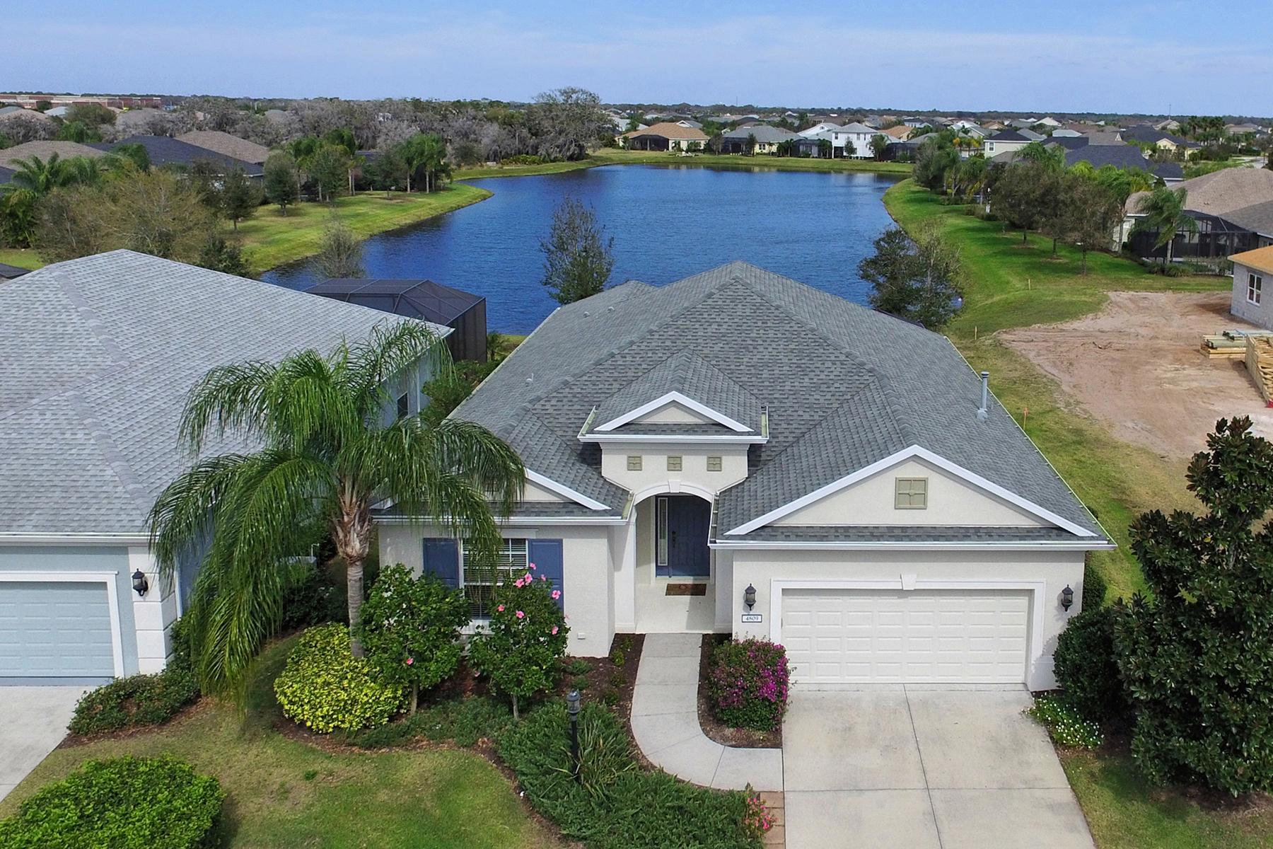 獨棟家庭住宅 為 出售 在 CENTRAL PARK 4809 Claremont Park Dr Bradenton, 佛羅里達州, 34211 美國