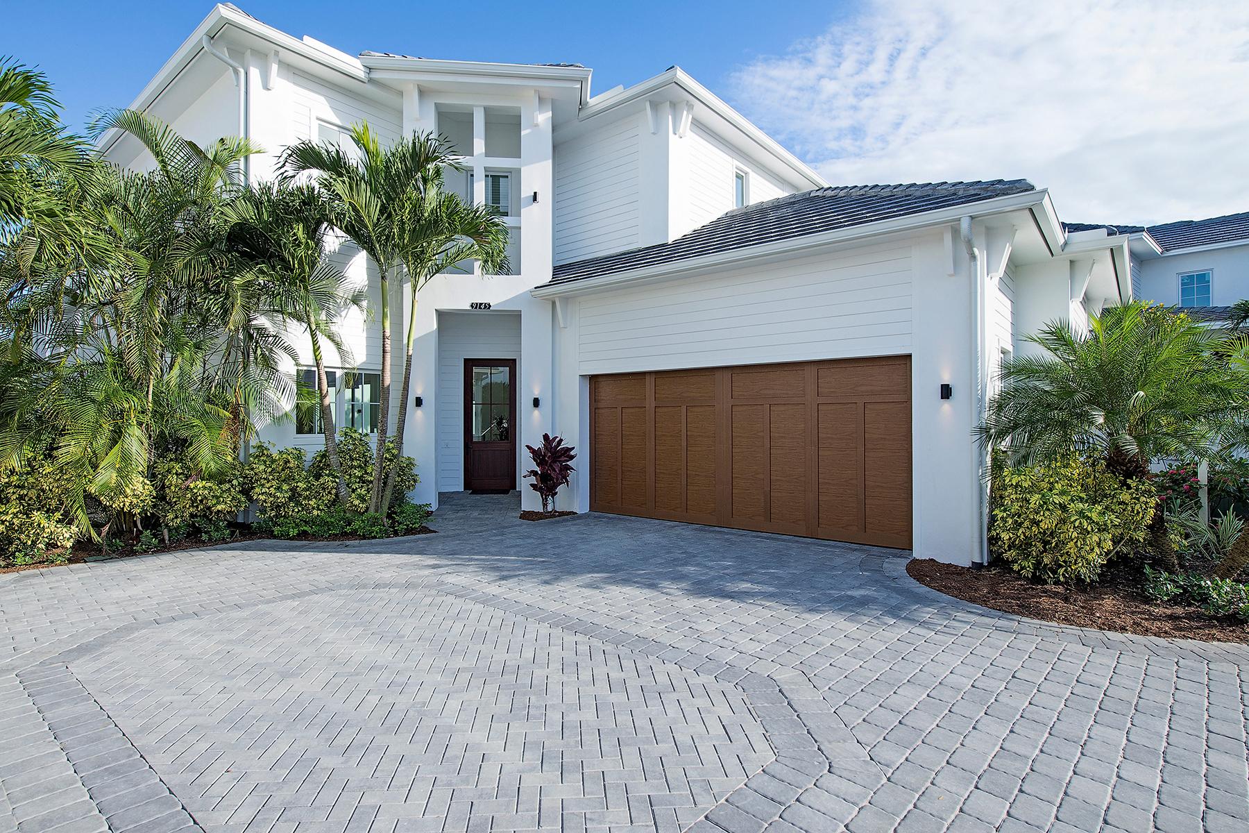 Частный односемейный дом для того Продажа на MERCATO 9145 Mercato Way Naples, Флорида 34108 Соединенные Штаты