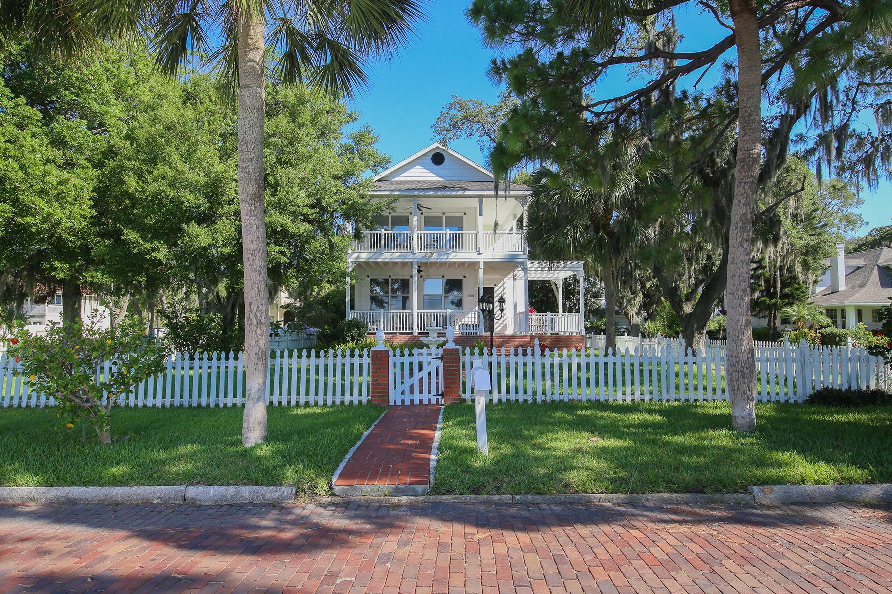 独户住宅 为 销售 在 LAUGHLIN ADD CTD 510 Riverside Dr 帕尔梅托, 佛罗里达州, 34221 美国