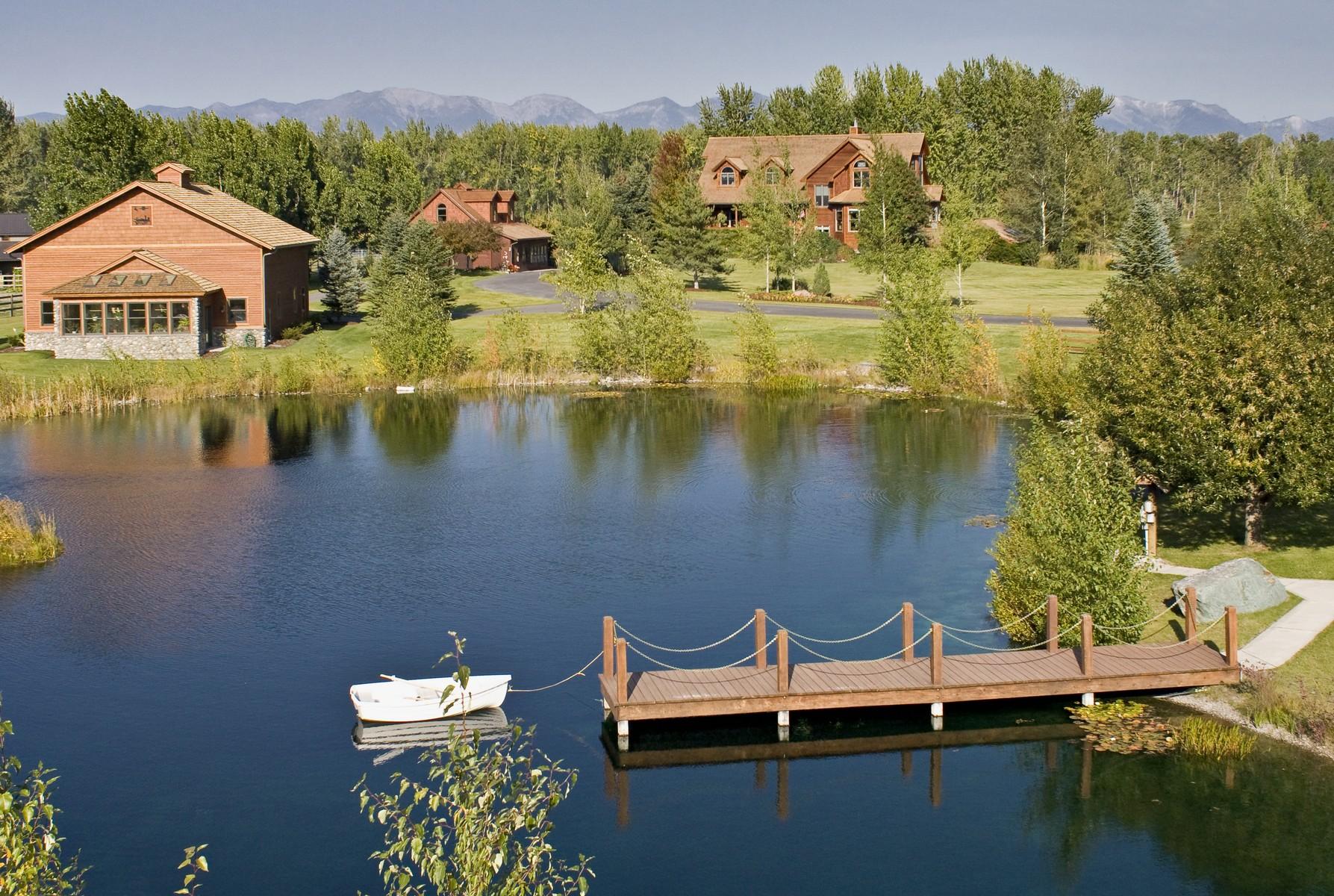 Maison unifamiliale pour l Vente à 767 Lower Valley Rd , Kalispell, MT 59901 767 Lower Valley Rd Kalispell, Montana, 59901 États-Unis