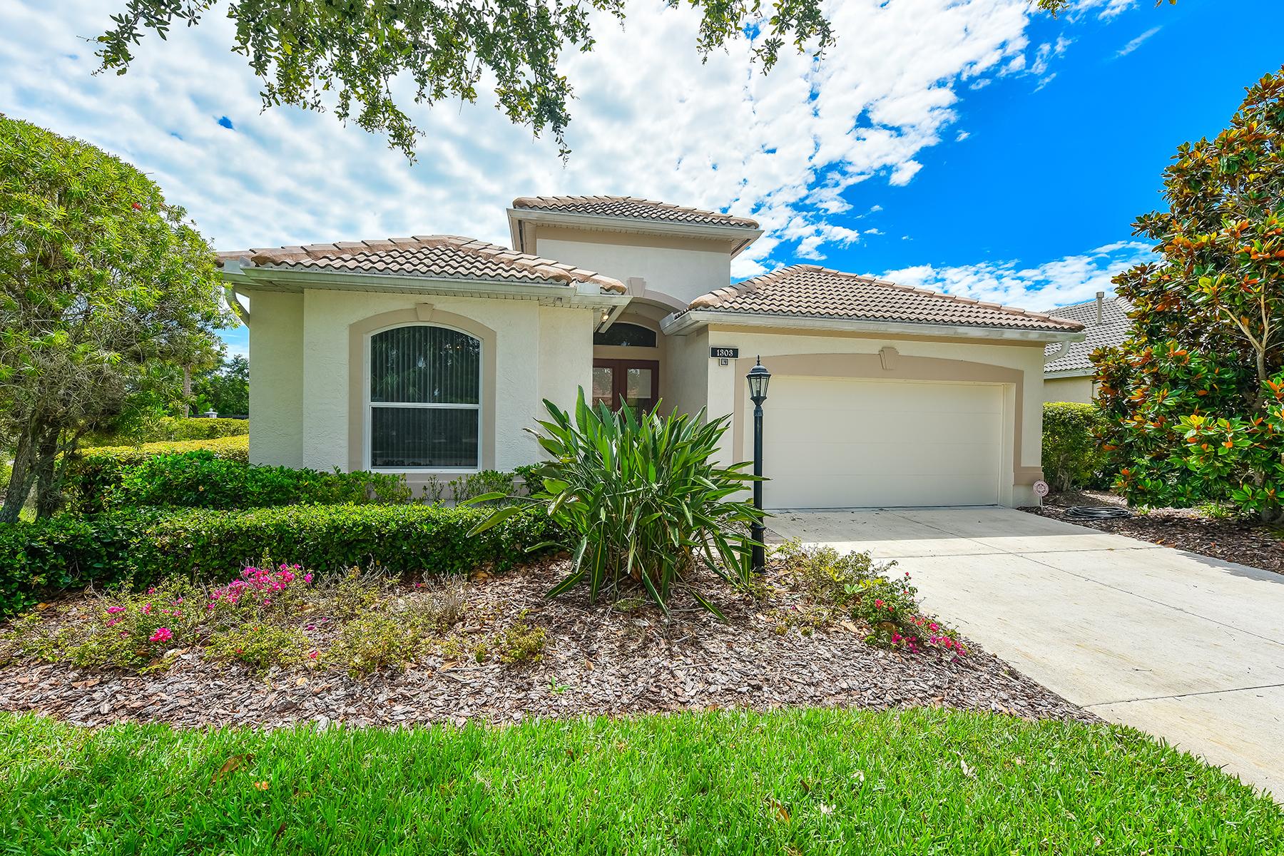 Maison unifamiliale pour l Vente à WILLOWBEND 1303 Thornapple Dr Osprey, Florida, 34229 États-Unis