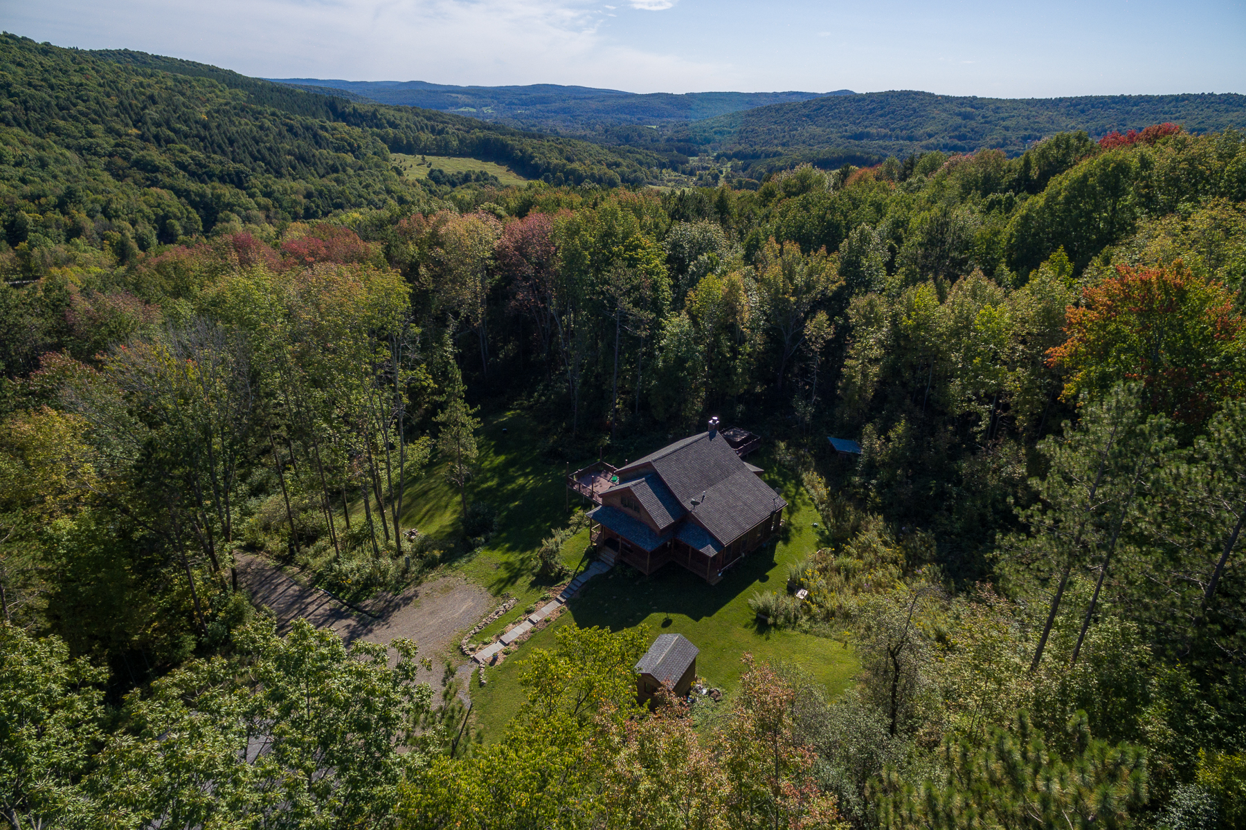 Single Family Home for Sale at Fly Creek Jewel 311 Tripp Hill Rd. Fly Creek, New York 13337 United States