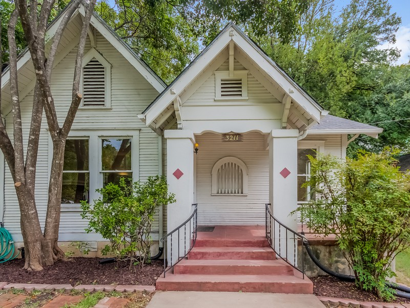 Single Family Home for Sale at Adorable Bungalow Close to UT 3211 Hampton Rd Austin, Texas 78705 United States