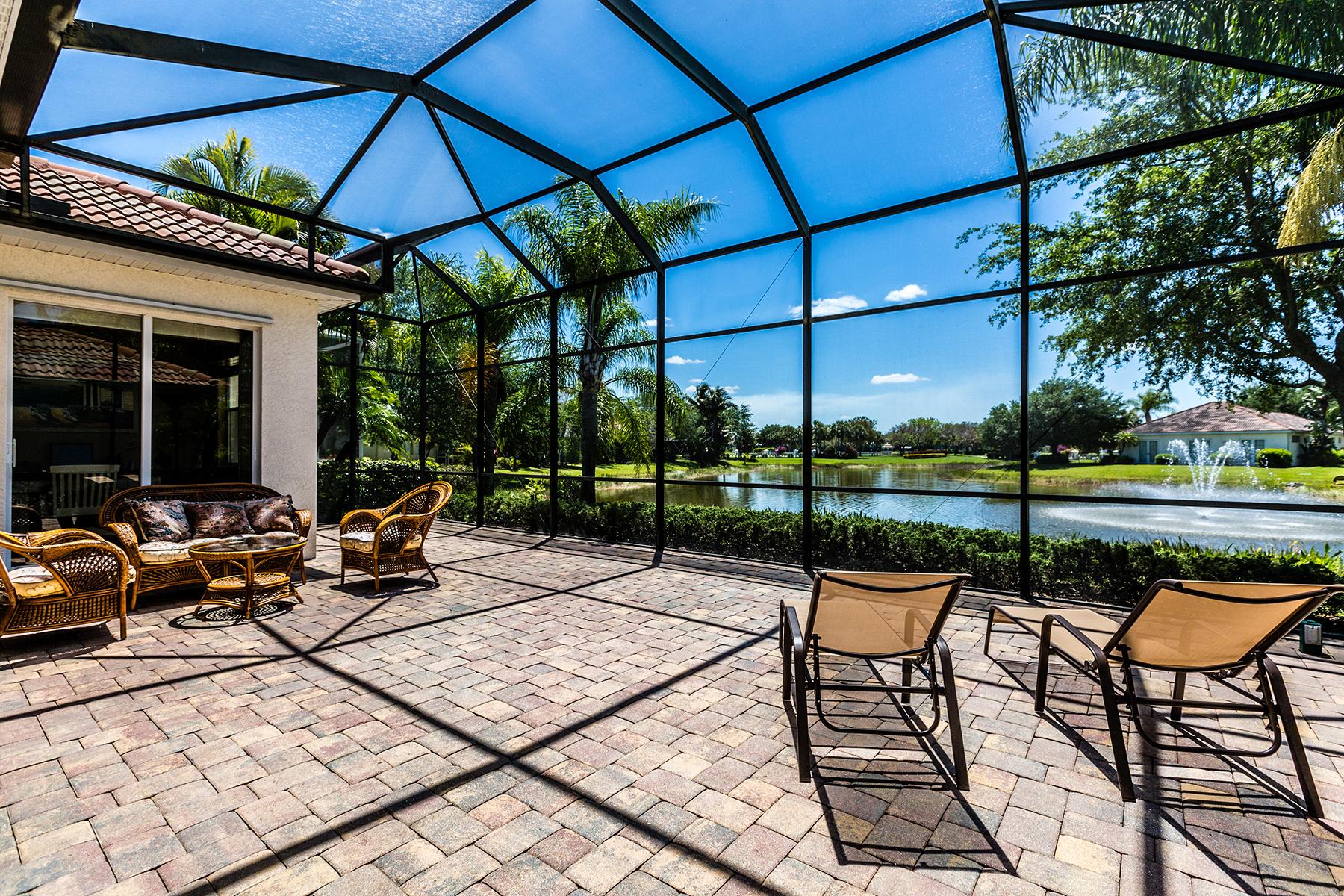 Einfamilienhaus für Verkauf beim BRIDGEWATER BAY - BOCA BAY 3215 Sundance Cir Naples, Florida, 34109 Vereinigte Staaten