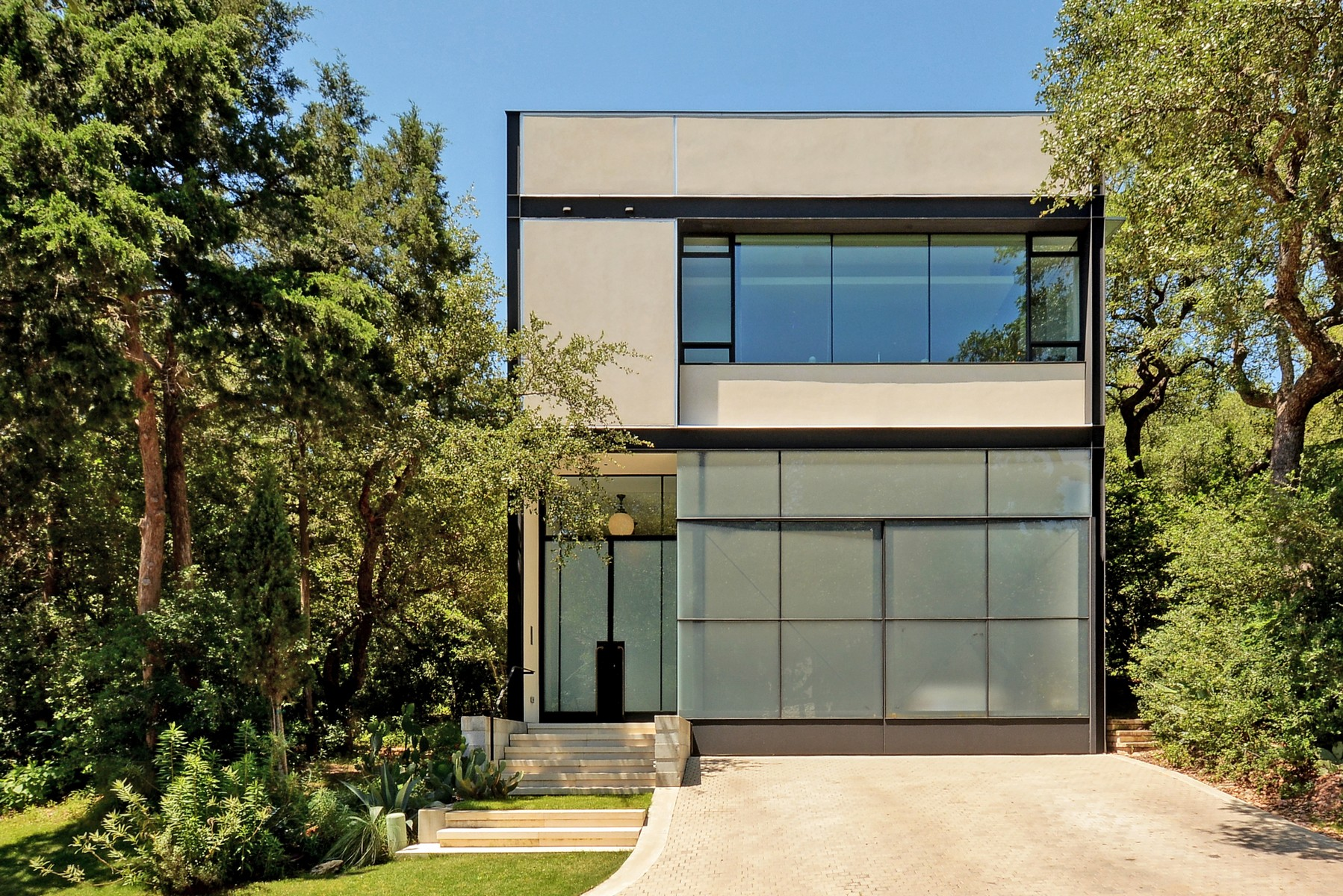 Single Family Home for Sale at Unique Modern Home Built by NYC Architect 2008 Rue De St Tropez Austin, Texas 78746 United States