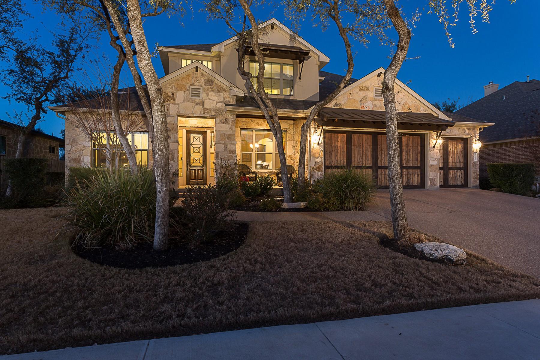 Casa Unifamiliar por un Venta en Luxury living in The Ranch at Brushy Creek! 4103 Arrow Wood Rd Cedar Park, Texas 78613 Estados Unidos