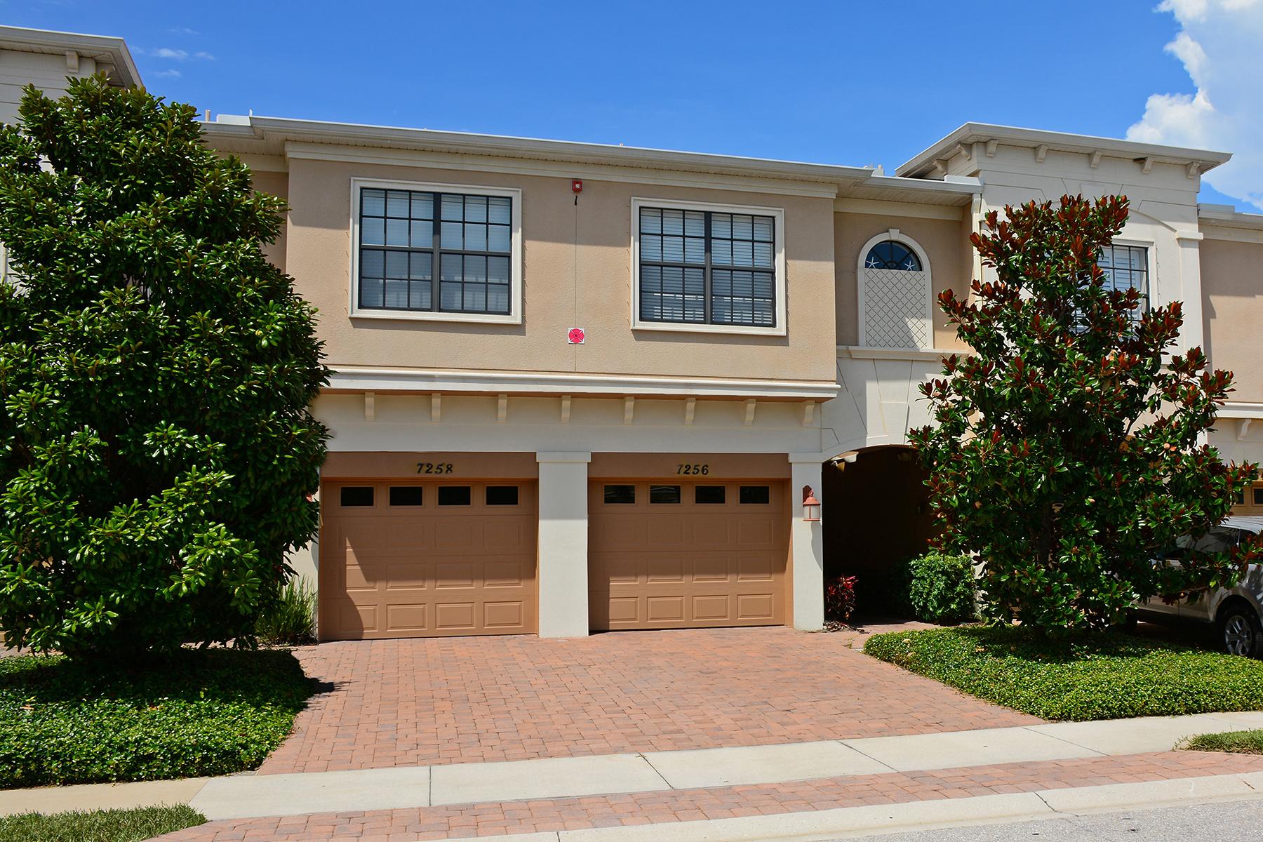 Townhouse for Sale at BRADENTON 7256 Hamilton Rd Bradenton, Florida 34209 United States